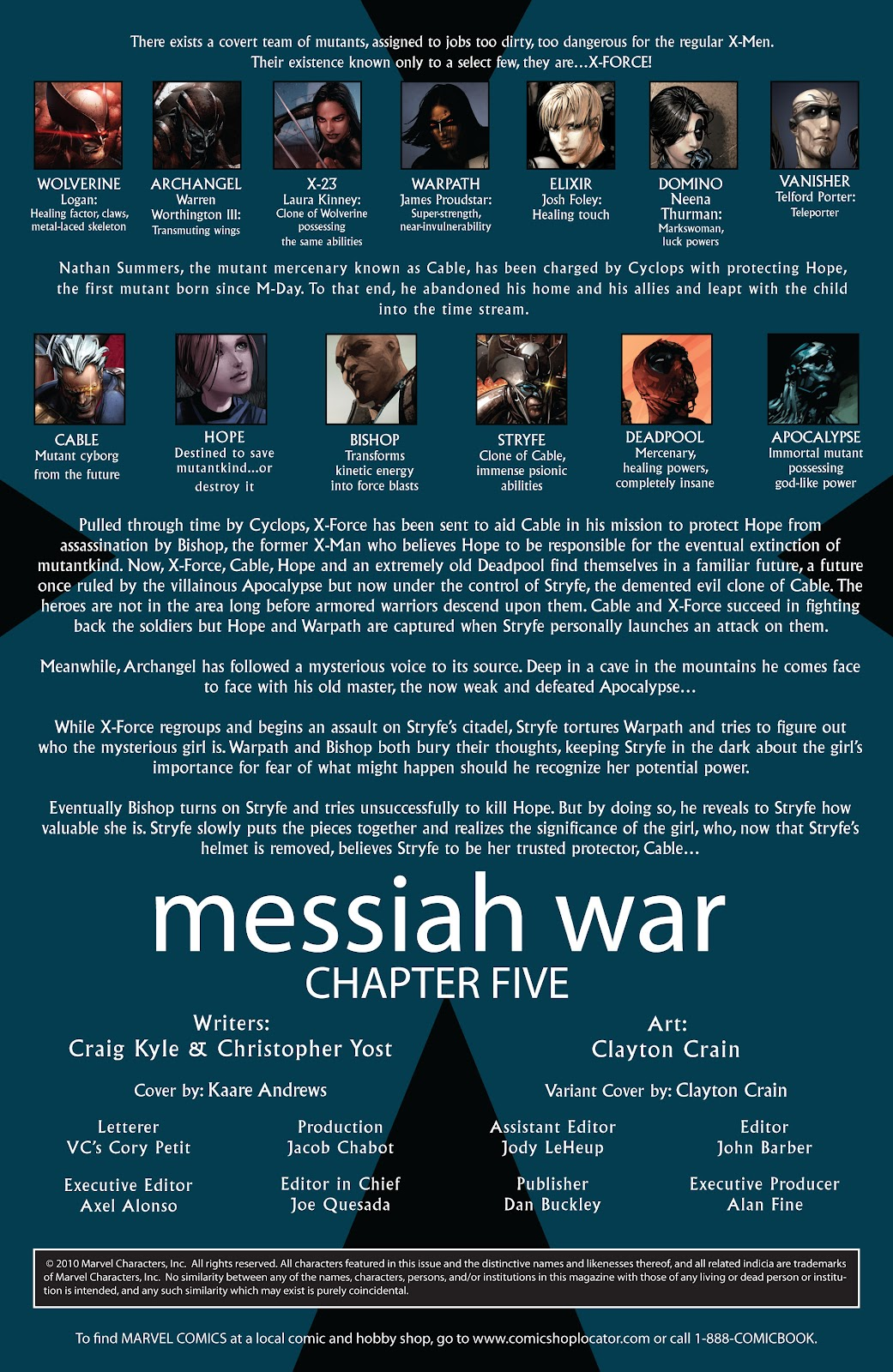 Read online X-Force/Cable: Messiah War comic -  Issue # _TPB (Part 2) - 67