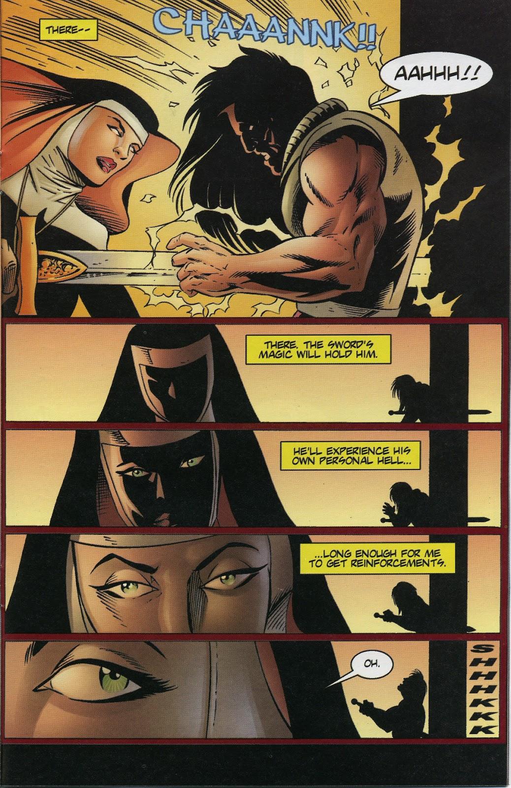 Warrior Nun Areala (1997) Issue #3 #3 - English 17
