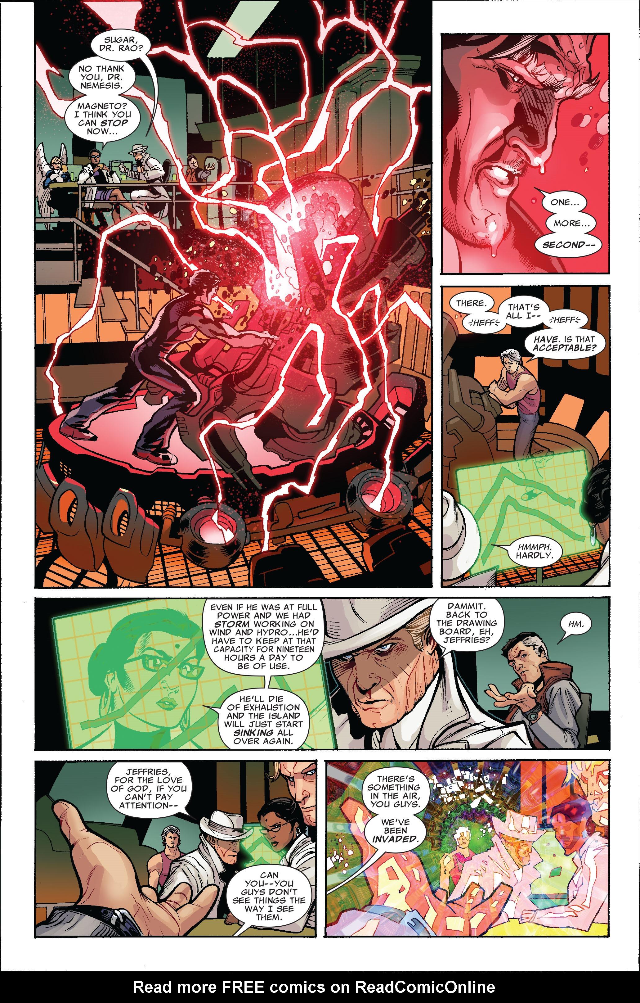 Read online Uncanny X-Men (1963) comic -  Issue #519 - 7