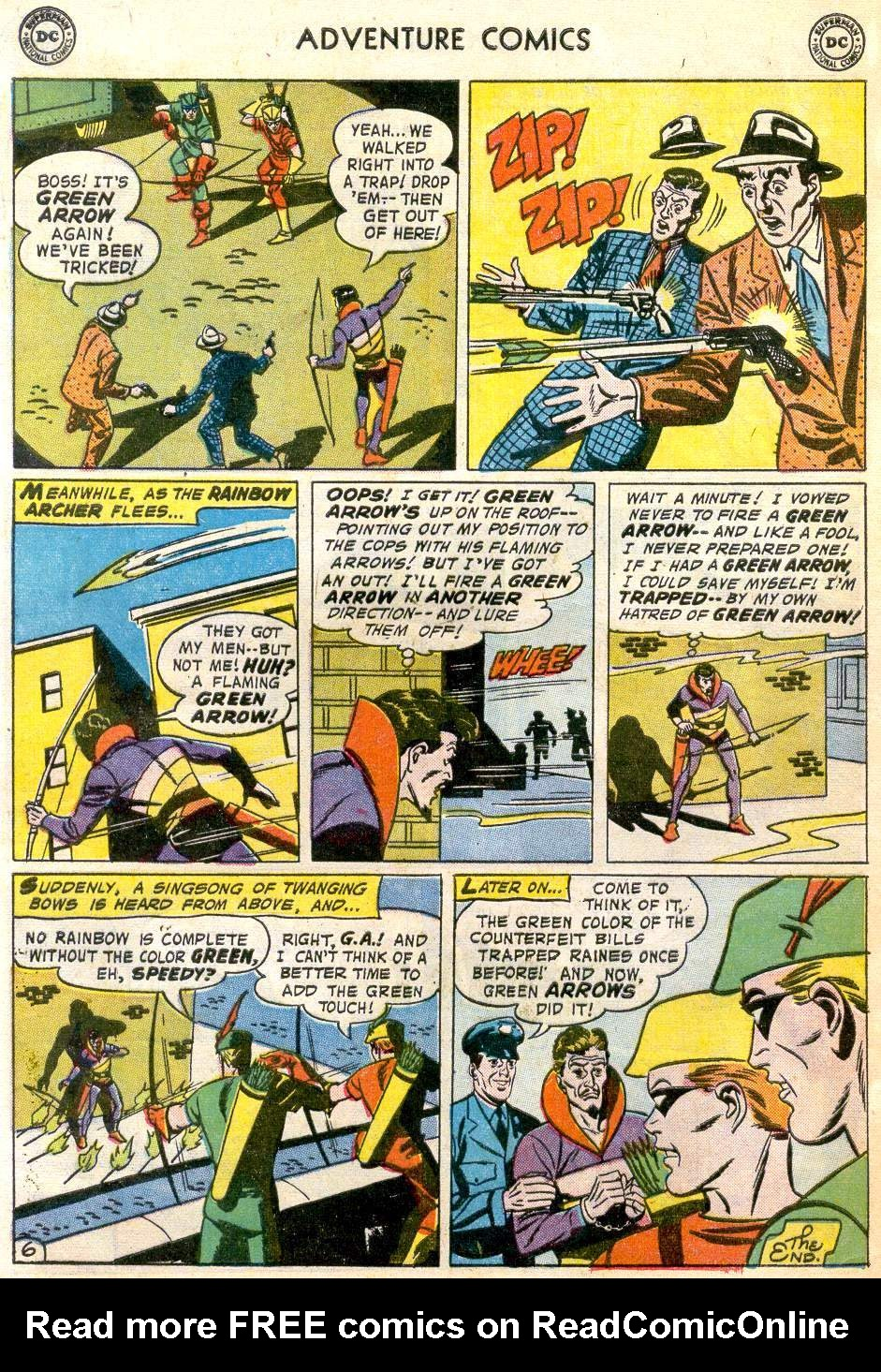 Read online Adventure Comics (1938) comic -  Issue #246 - 32