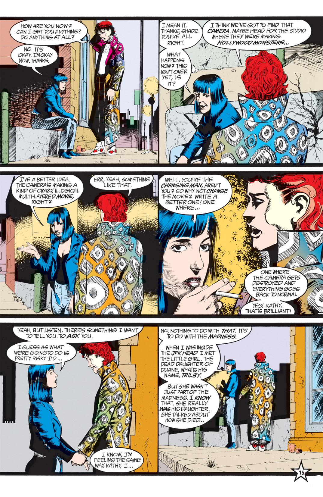Read online Shade, the Changing Man comic -  Issue #6 - 17