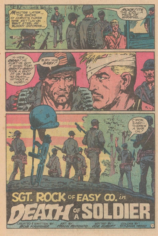 Read online Sgt. Rock comic -  Issue #347 - 12