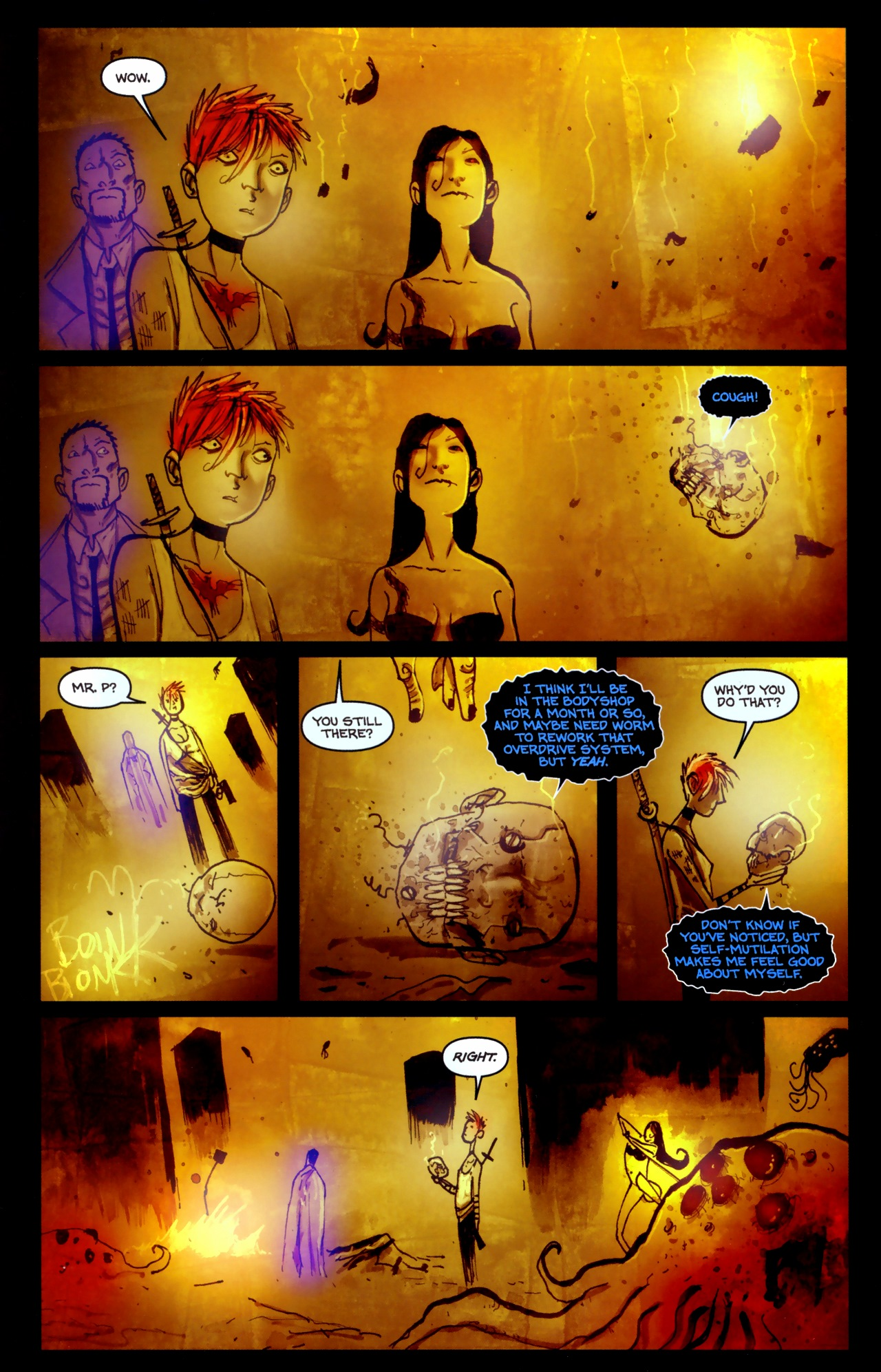 Read online Wormwood: Gentleman Corpse comic -  Issue #11 - 20