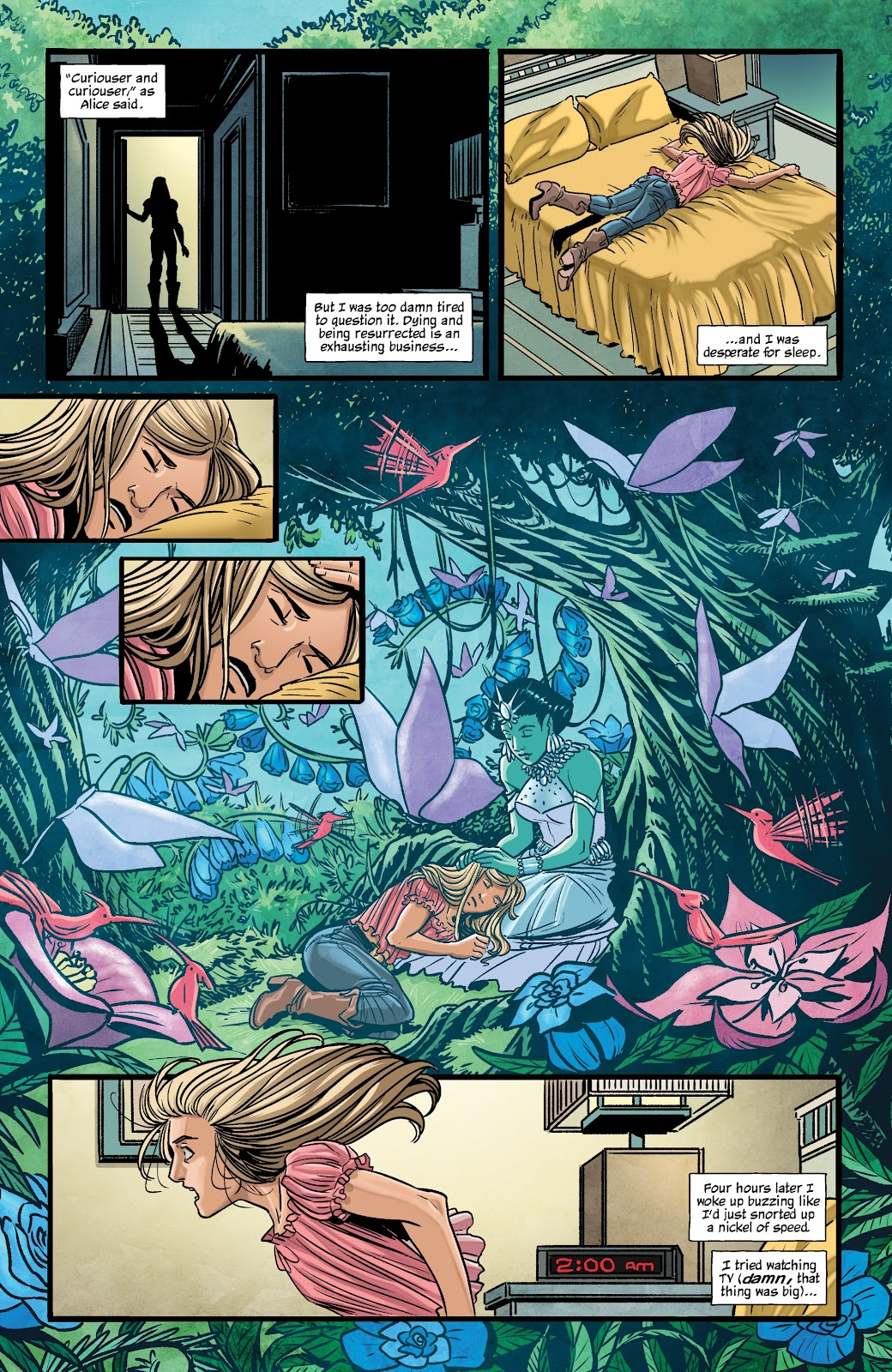 Read online The Girl In The Bay comic -  Issue #2 - 10