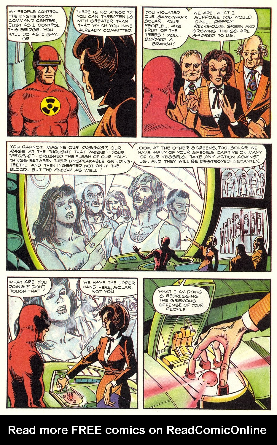 Read online Solar, Man of the Atom comic -  Issue #6 - 31