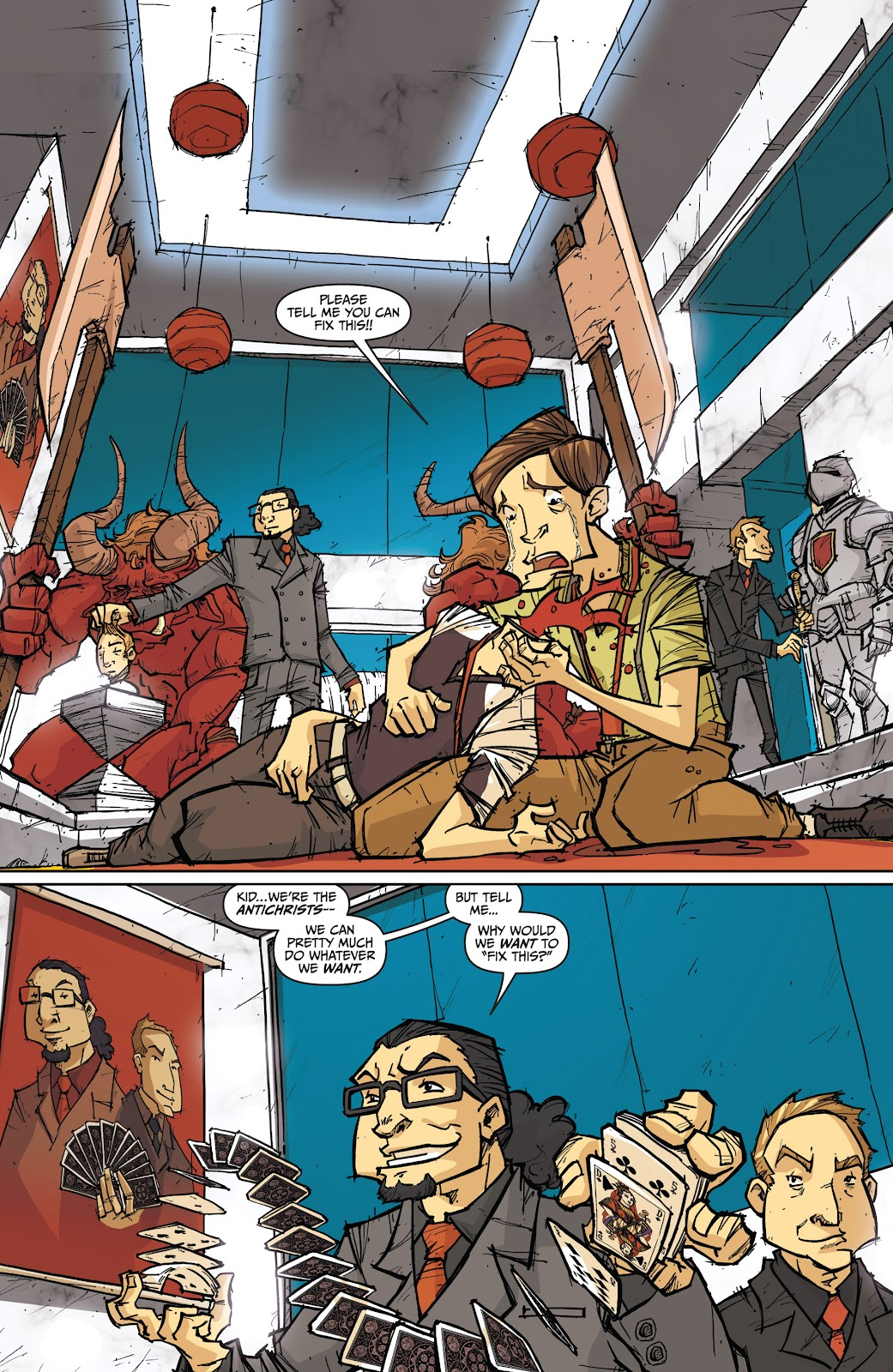 Read online The End Times of Bram and Ben comic -  Issue #4 - 3
