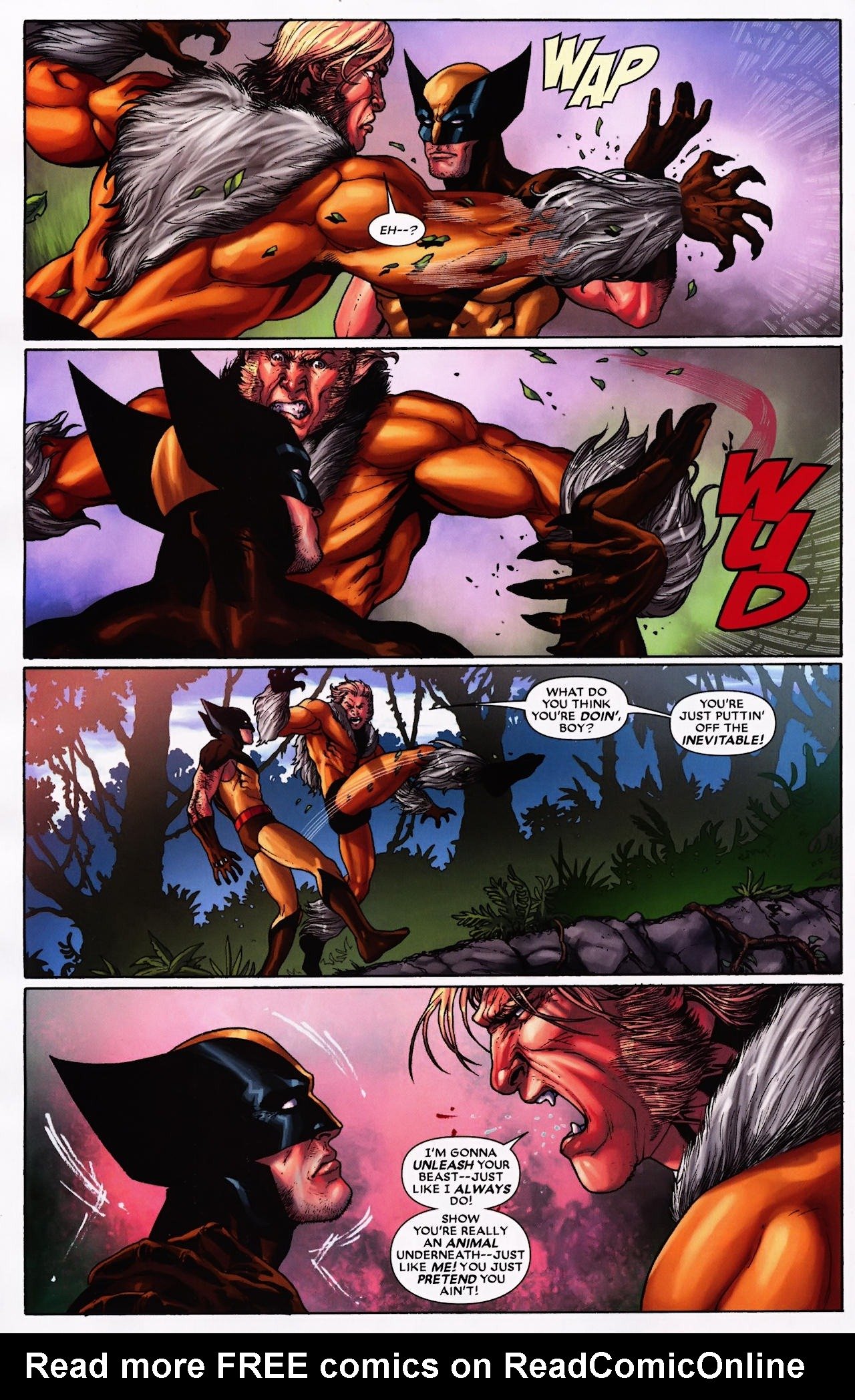 Read online Wolverine: First Class comic -  Issue #9 - 19