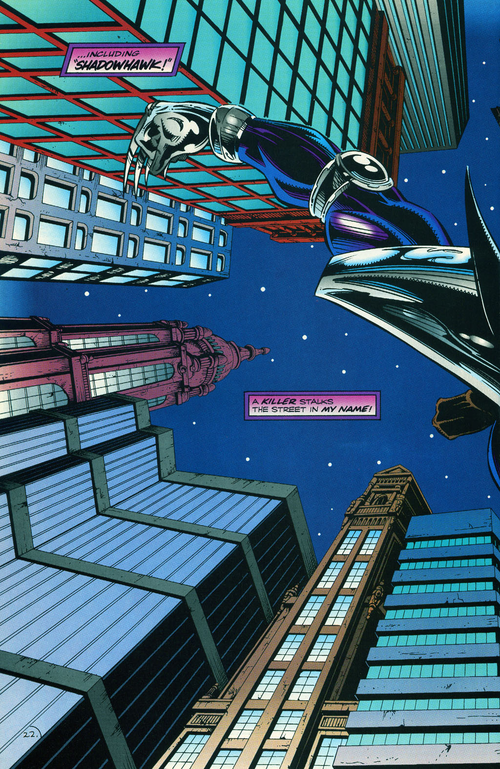 Read online ShadowHawk comic -  Issue #5 - 28