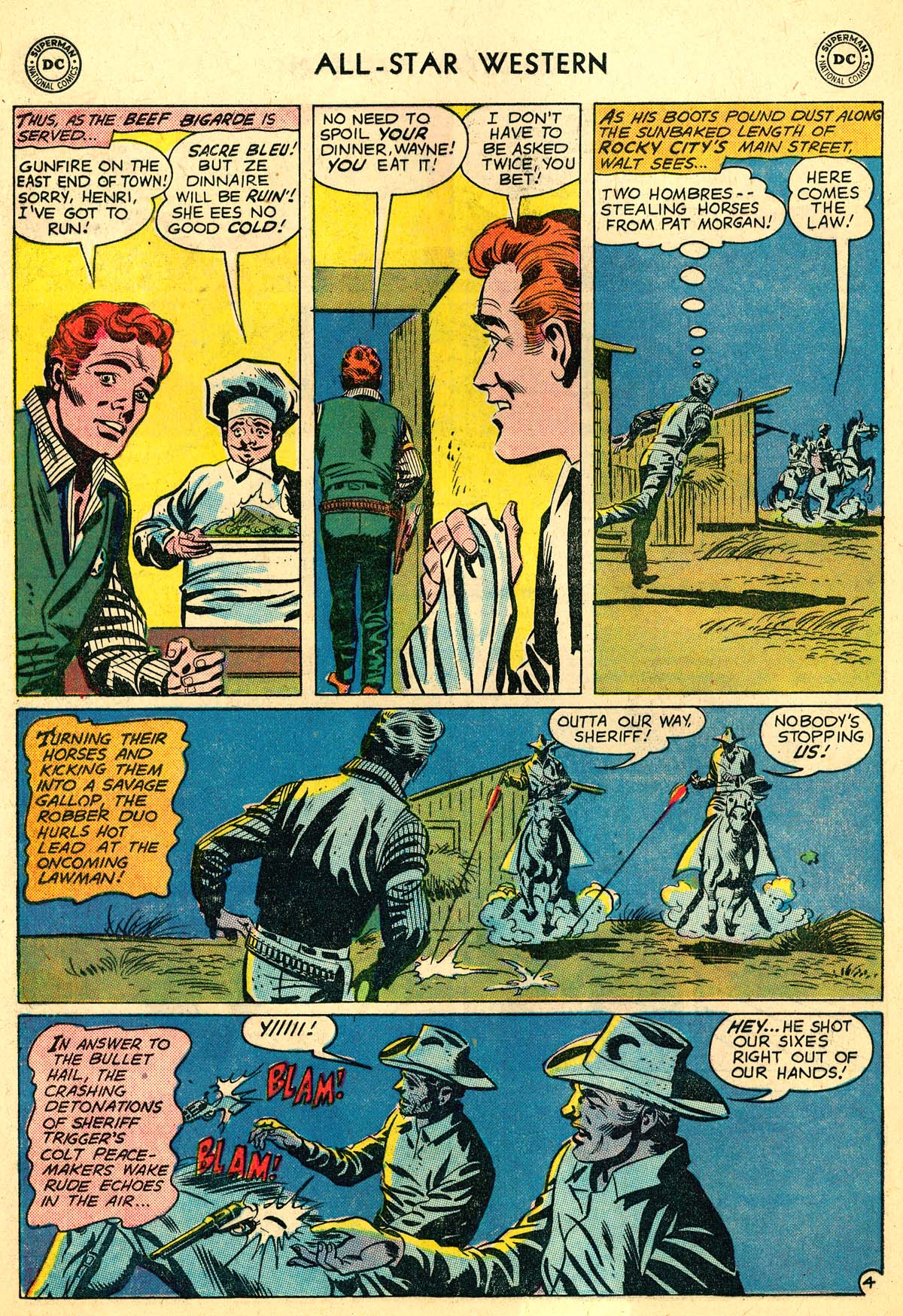Read online All-Star Western (1951) comic -  Issue #110 - 28