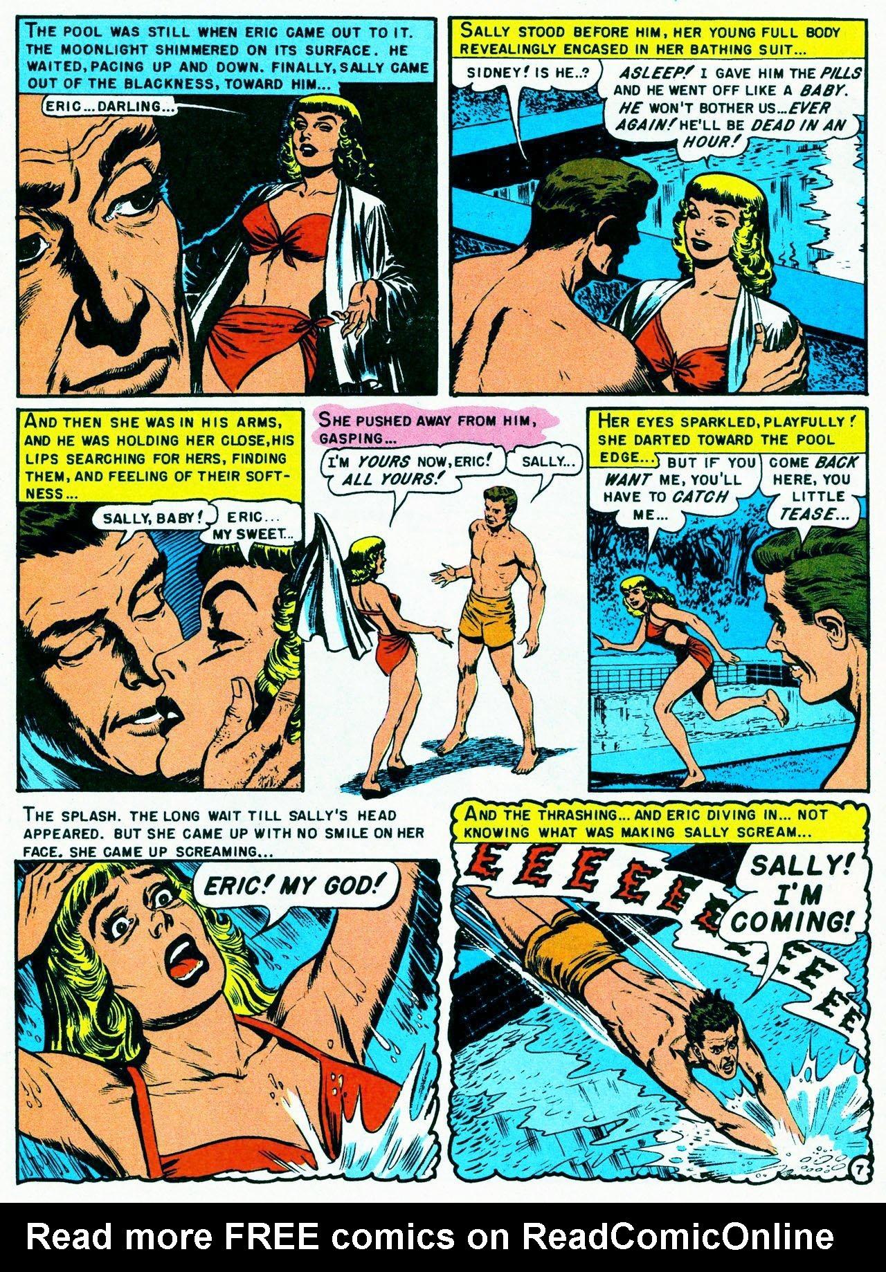 Read online Shock SuspenStories comic -  Issue #8 - 9