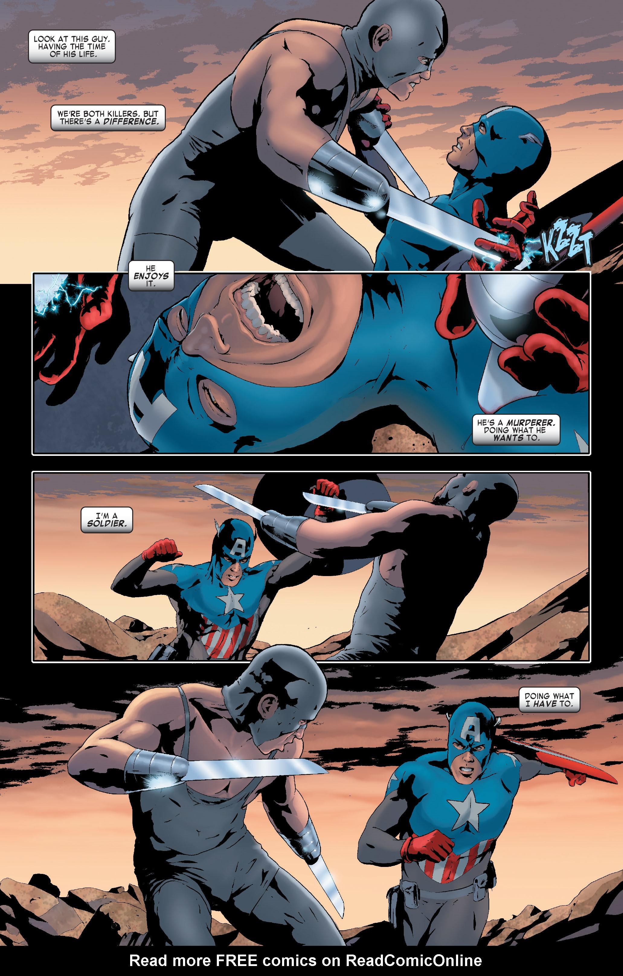 Read online Siege: Captain America comic -  Issue # Full - 18