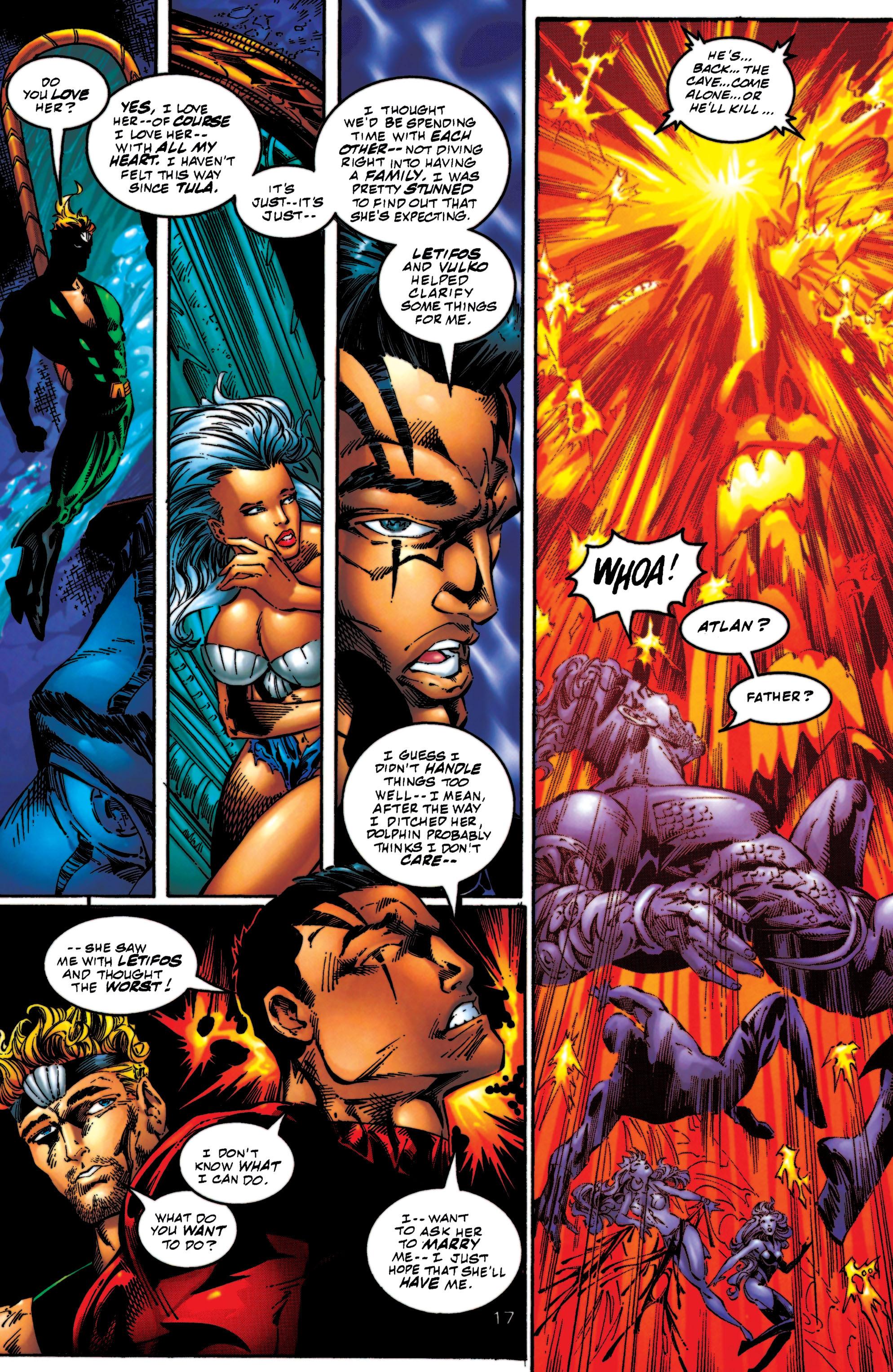 Read online Aquaman (1994) comic -  Issue #56 - 17