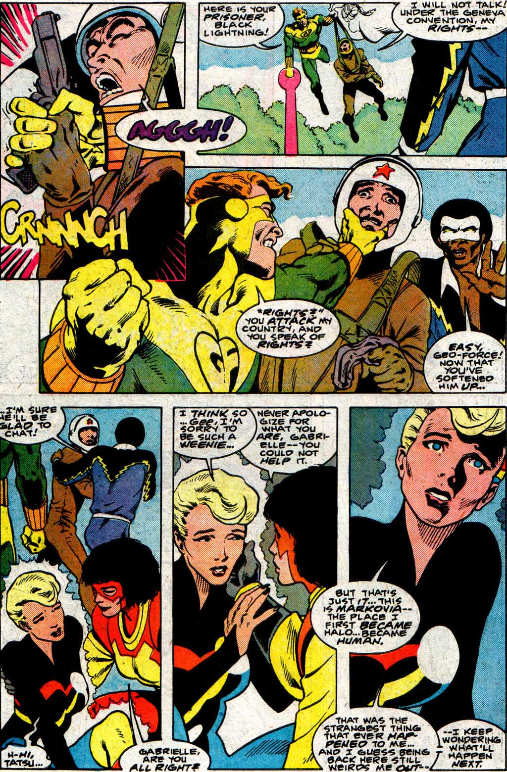 Read online Adventures of the Outsiders comic -  Issue #33 - 8
