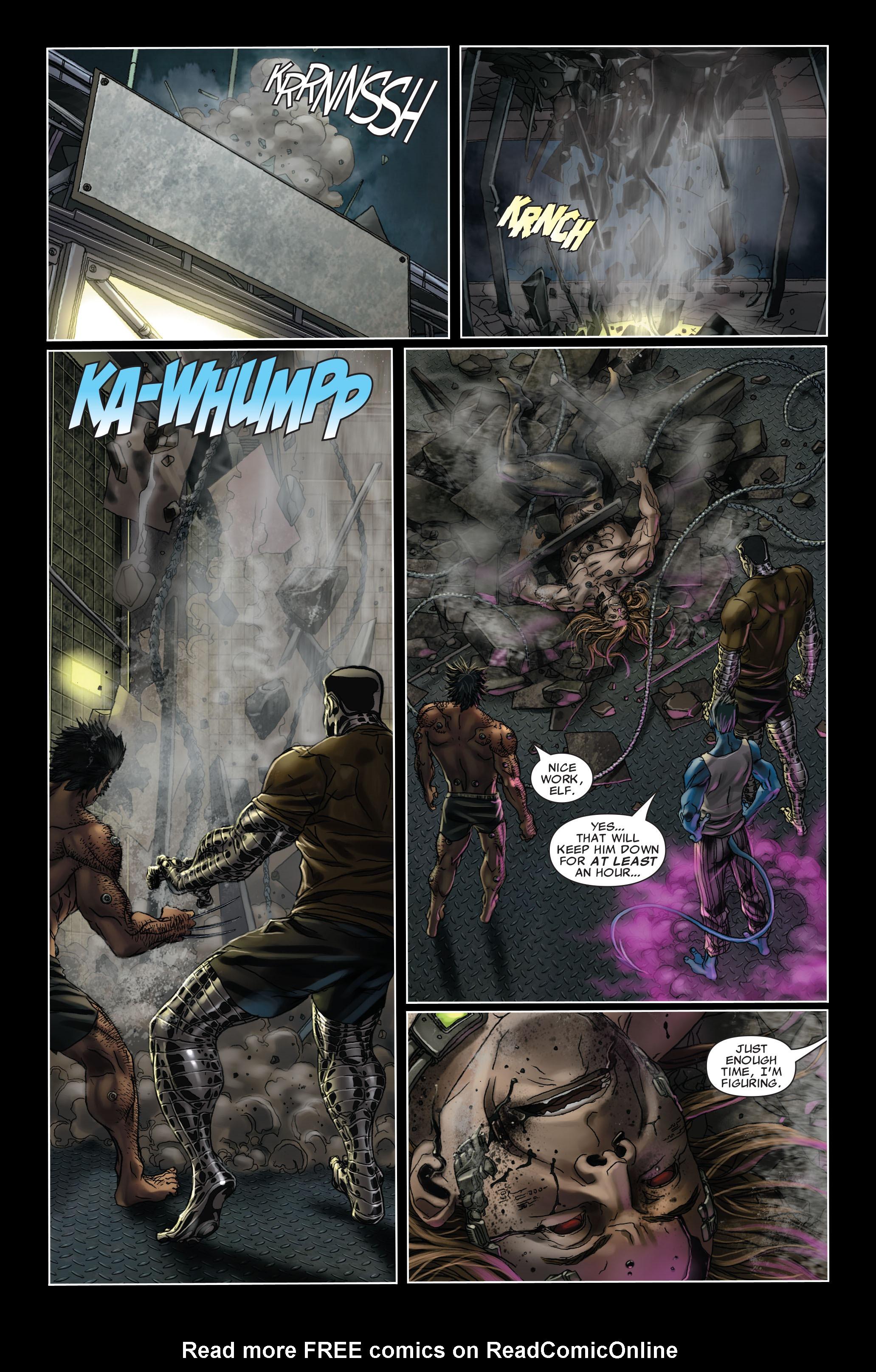 Read online Uncanny X-Men (1963) comic -  Issue #499 - 18