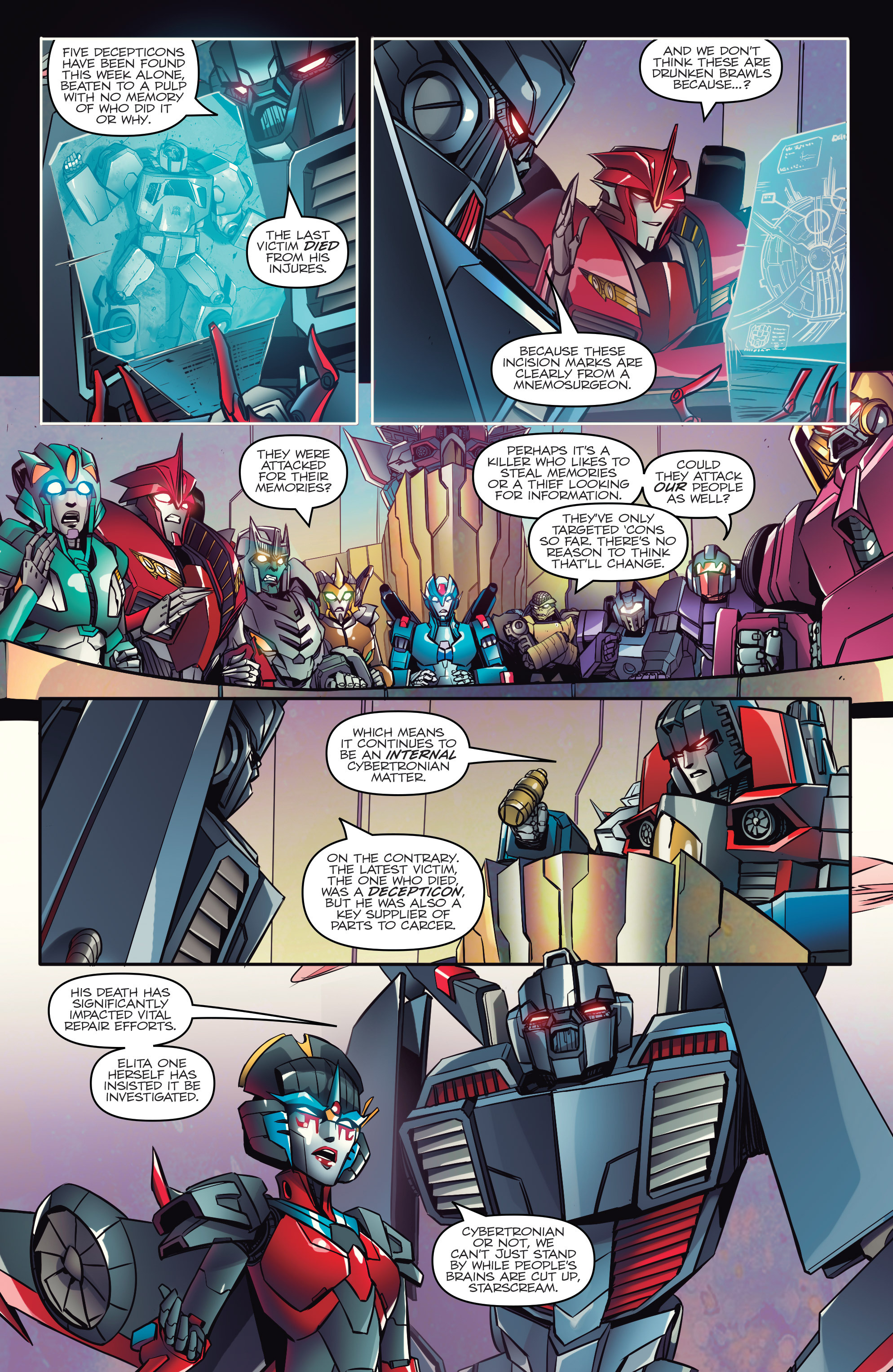 Read online Transformers: Till All Are One comic -  Issue #1 - 6