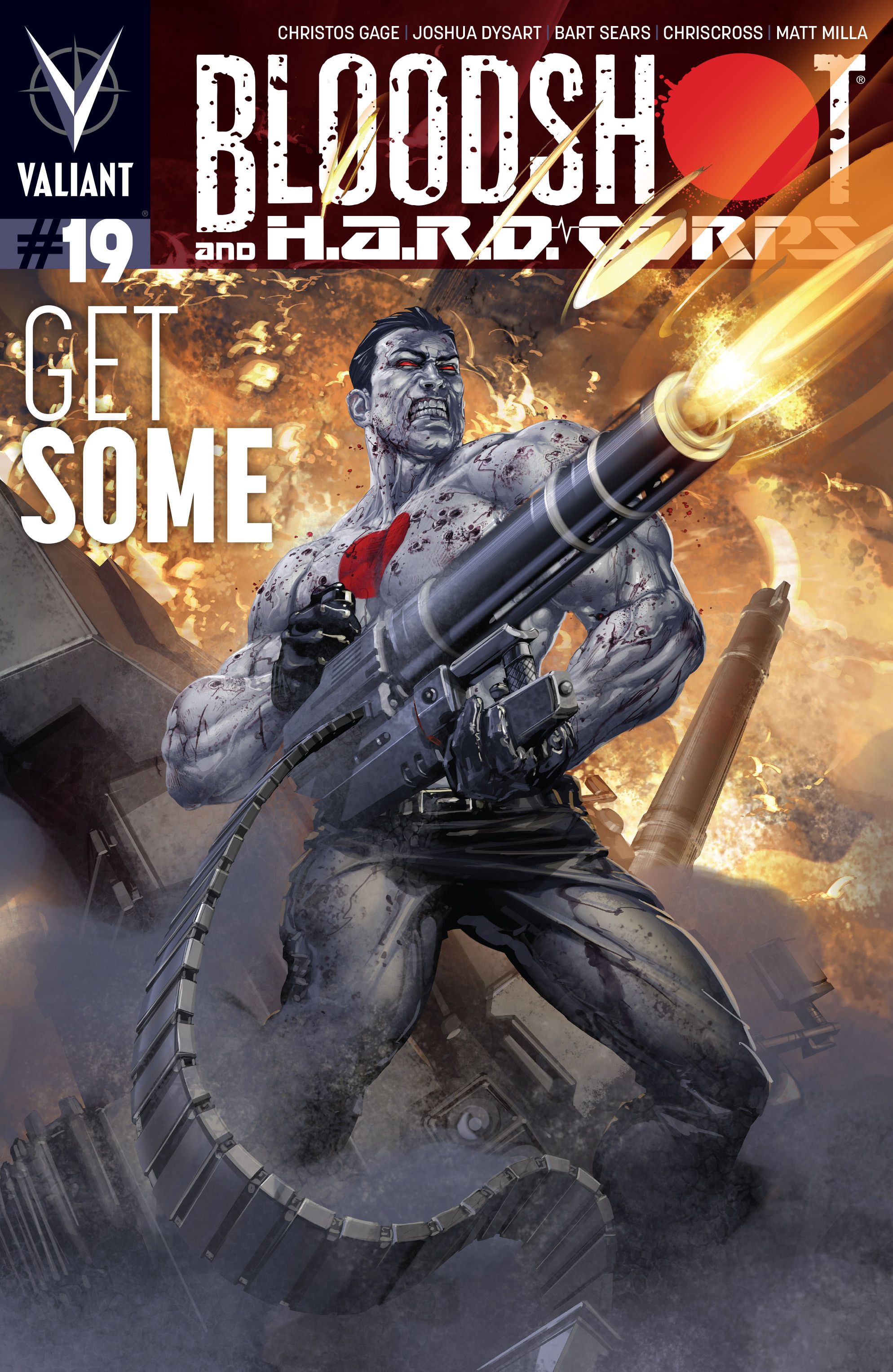 Read online Bloodshot and H.A.R.D.Corps comic -  Issue #19 - 1