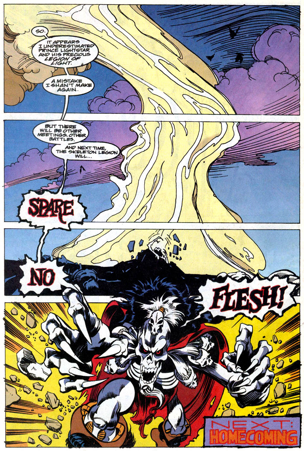 Skeleton Warriors Issue #1 #1 - English 22