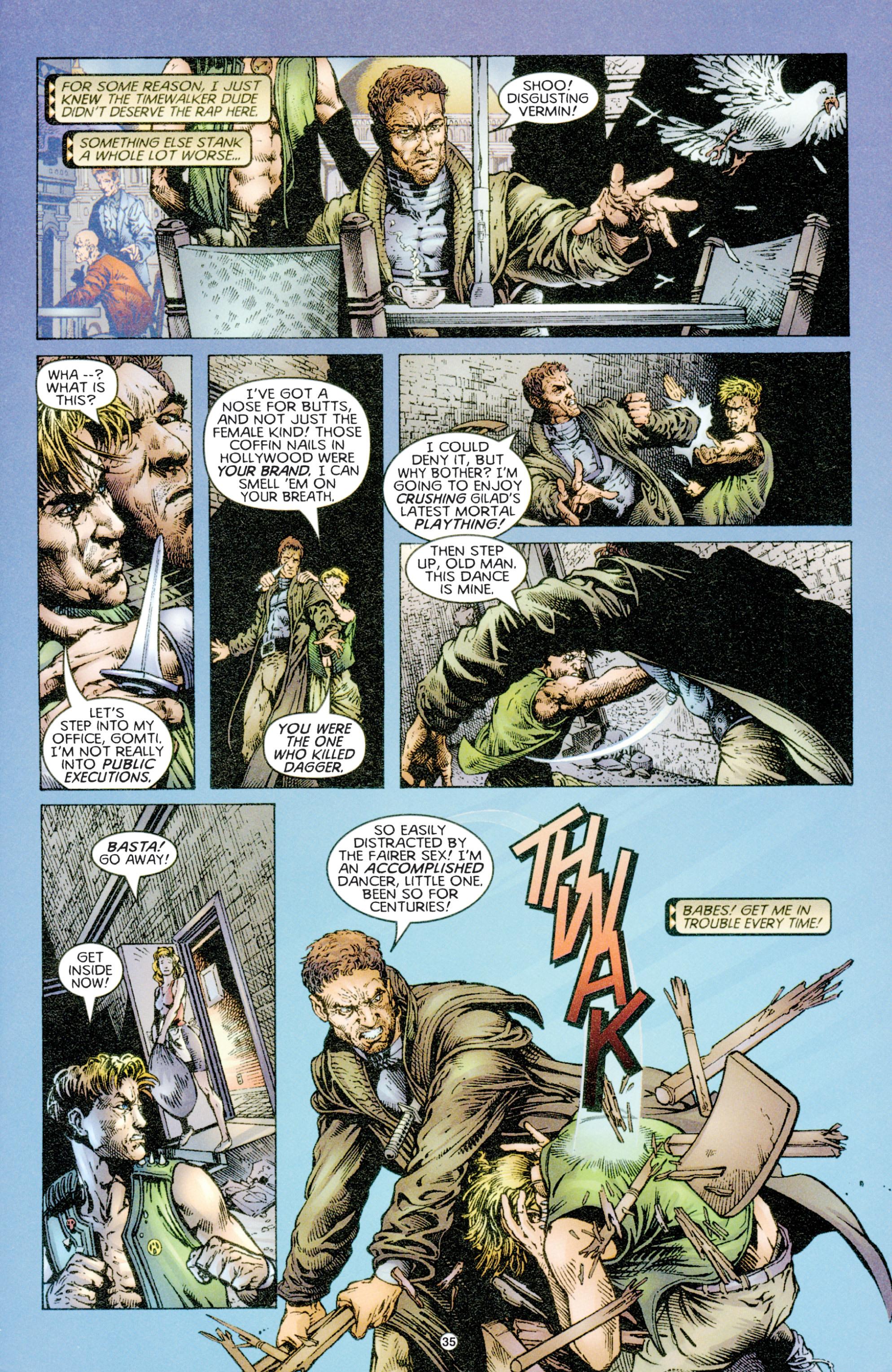 Read online Eternal Warriors comic -  Issue # Issue Time & Treachery - 34
