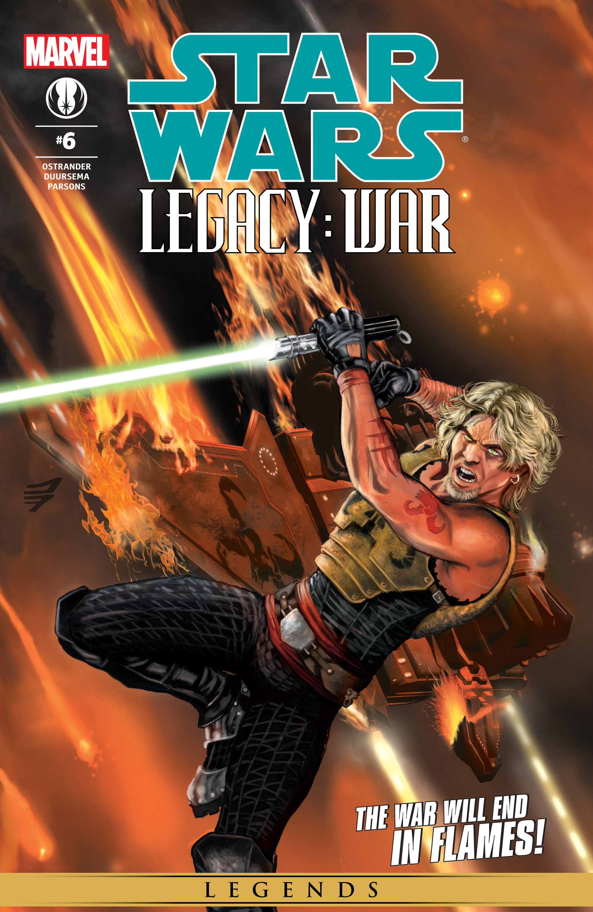 Star Wars: Legacy War issue 6 - Page 1