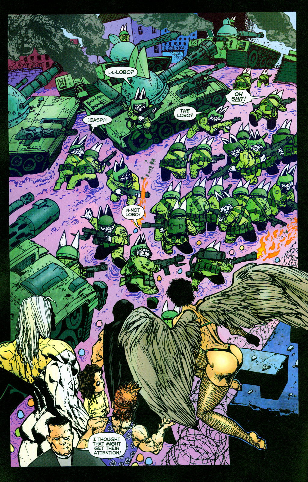 Read online The Authority/Lobo: Spring Break Massacre comic -  Issue # Full - 22