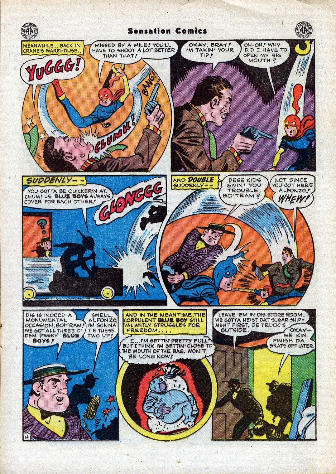 Read online Sensation (Mystery) Comics comic -  Issue #44 - 19