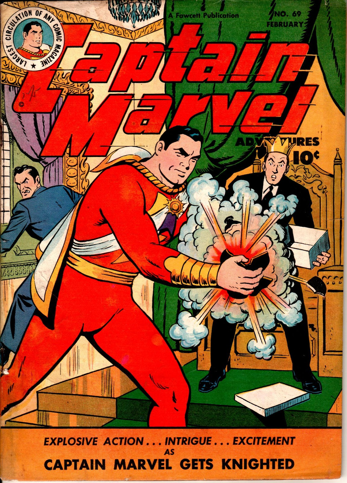 Captain Marvel Adventures issue 69 - Page 1