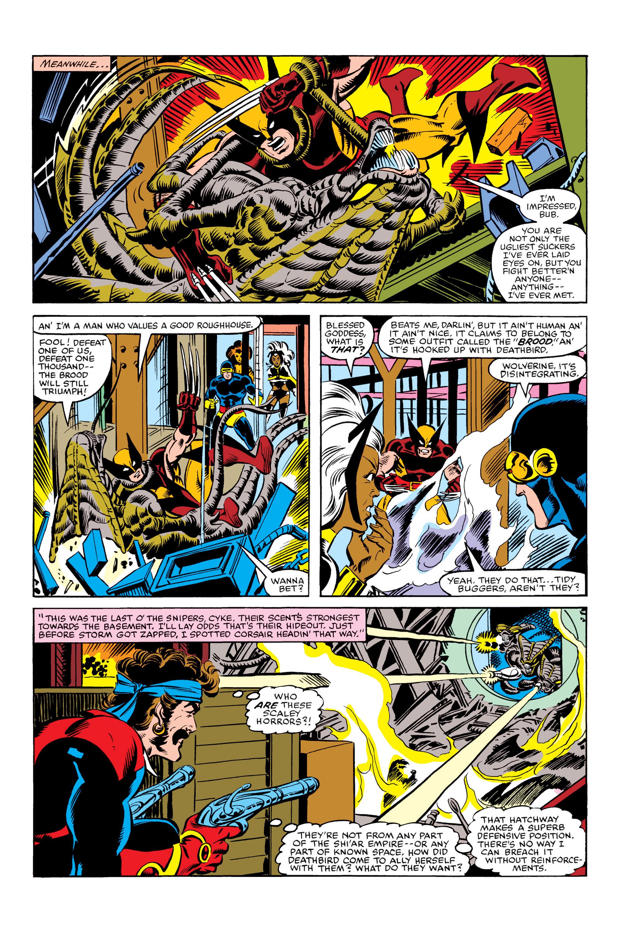 Read online Uncanny X-Men (1963) comic -  Issue #155 - 21