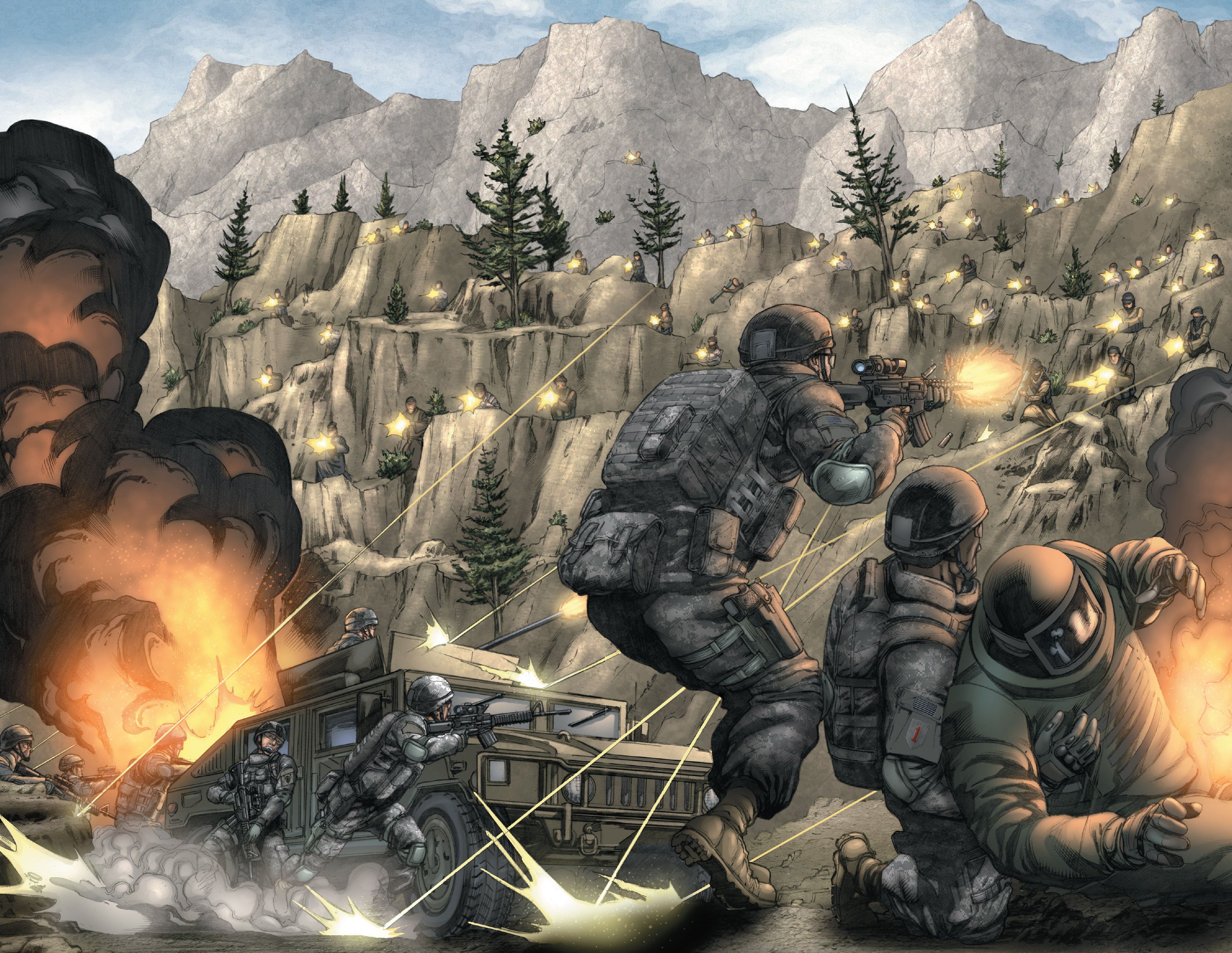 Read online America's Army comic -  Issue #14 - 13