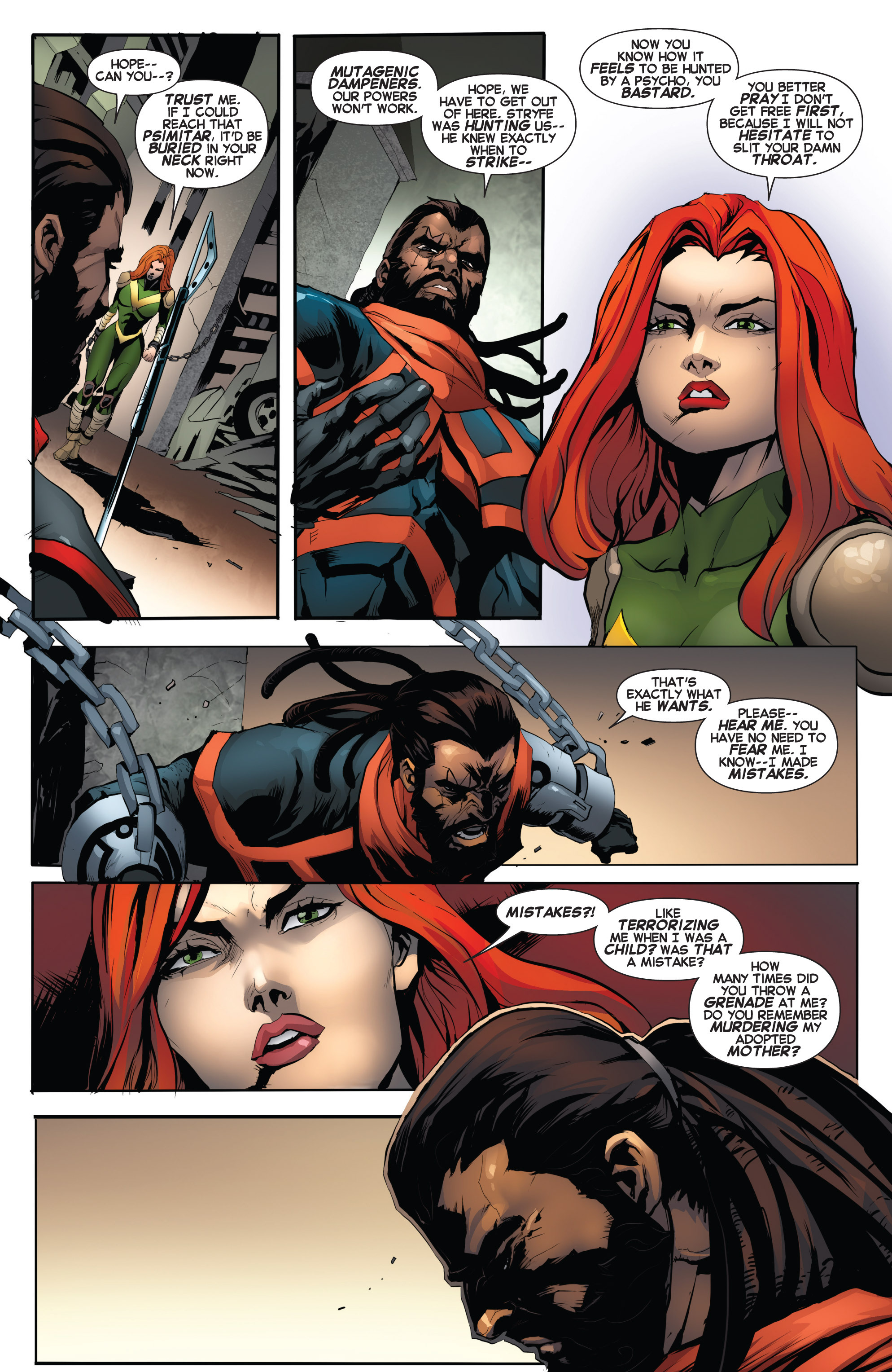 Read online Uncanny X-Force (2013) comic -  Issue #16 - 8