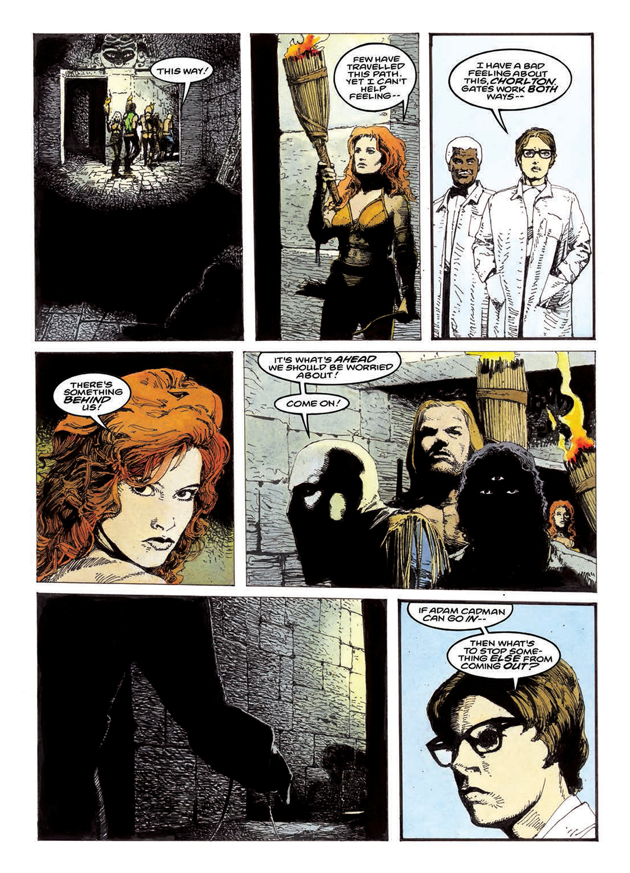 Read online Mazeworld comic -  Issue # TPB - 143