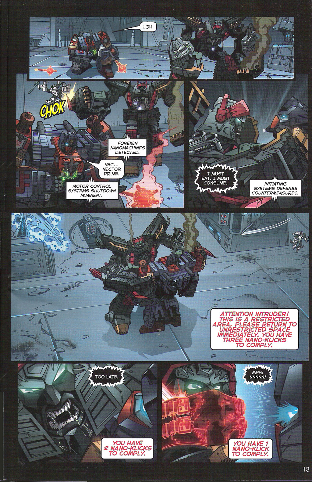 Read online Transformers: Collectors' Club comic -  Issue #5 - 13