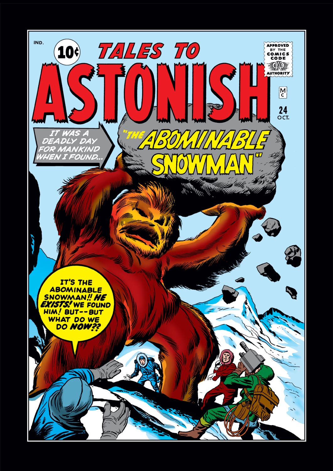 Tales to Astonish (1959) issue 24 - Page 1