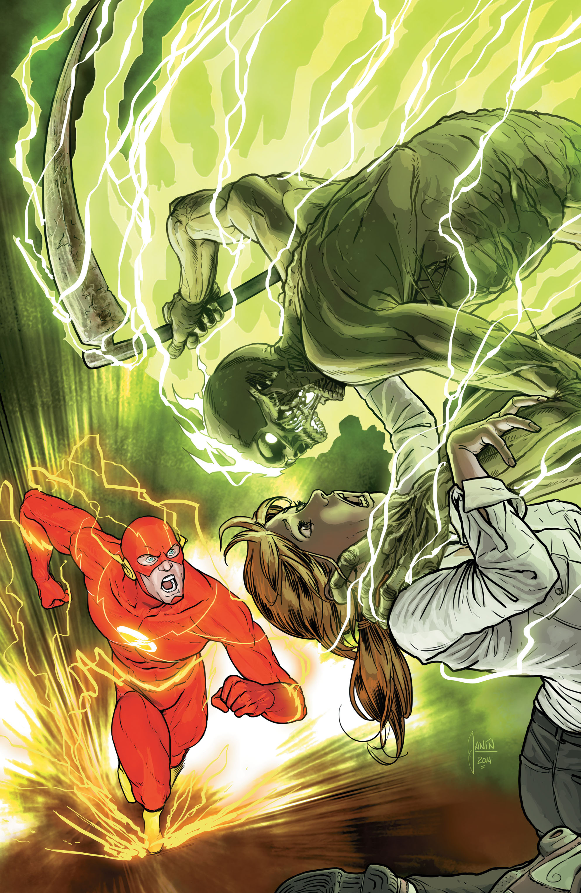 Read online The Flash (2011) comic -  Issue # _TPB 5 - 104