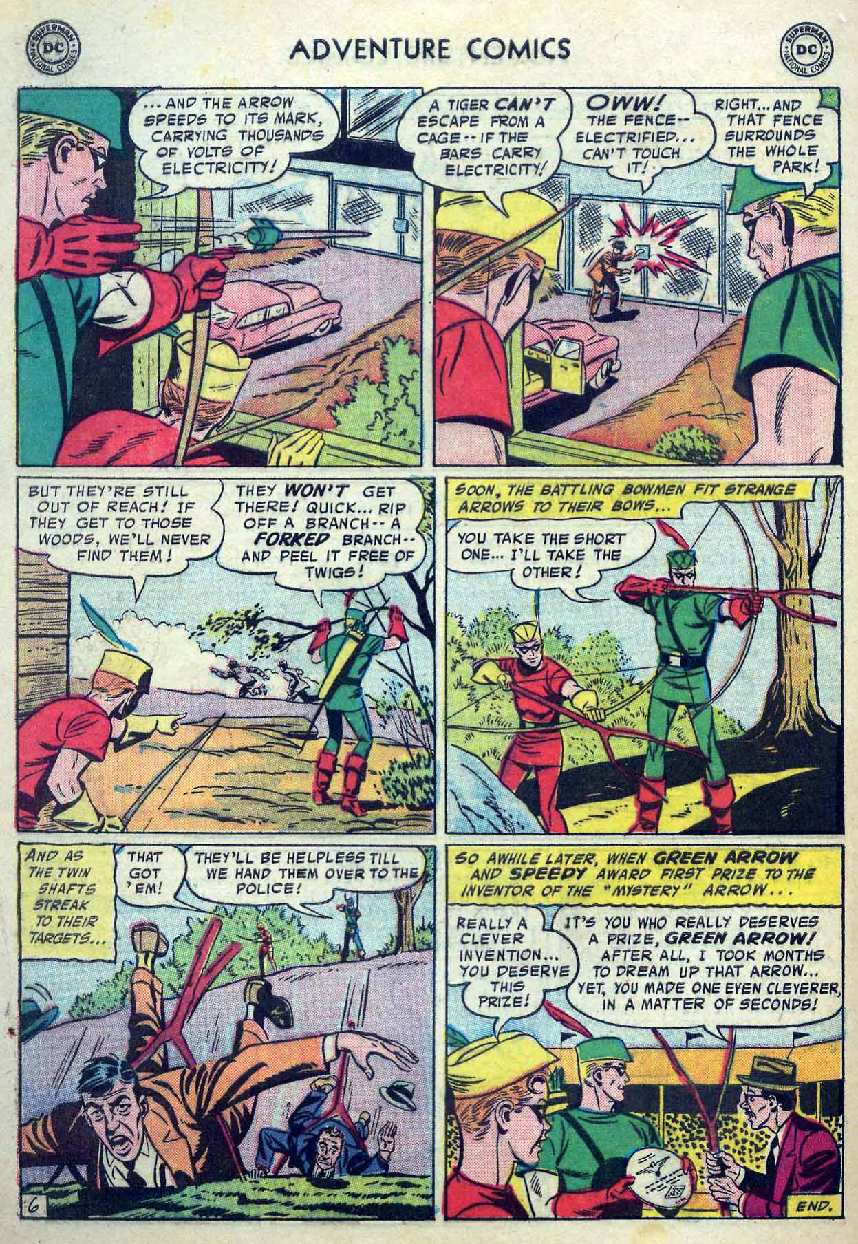 Read online Adventure Comics (1938) comic -  Issue #237 - 32