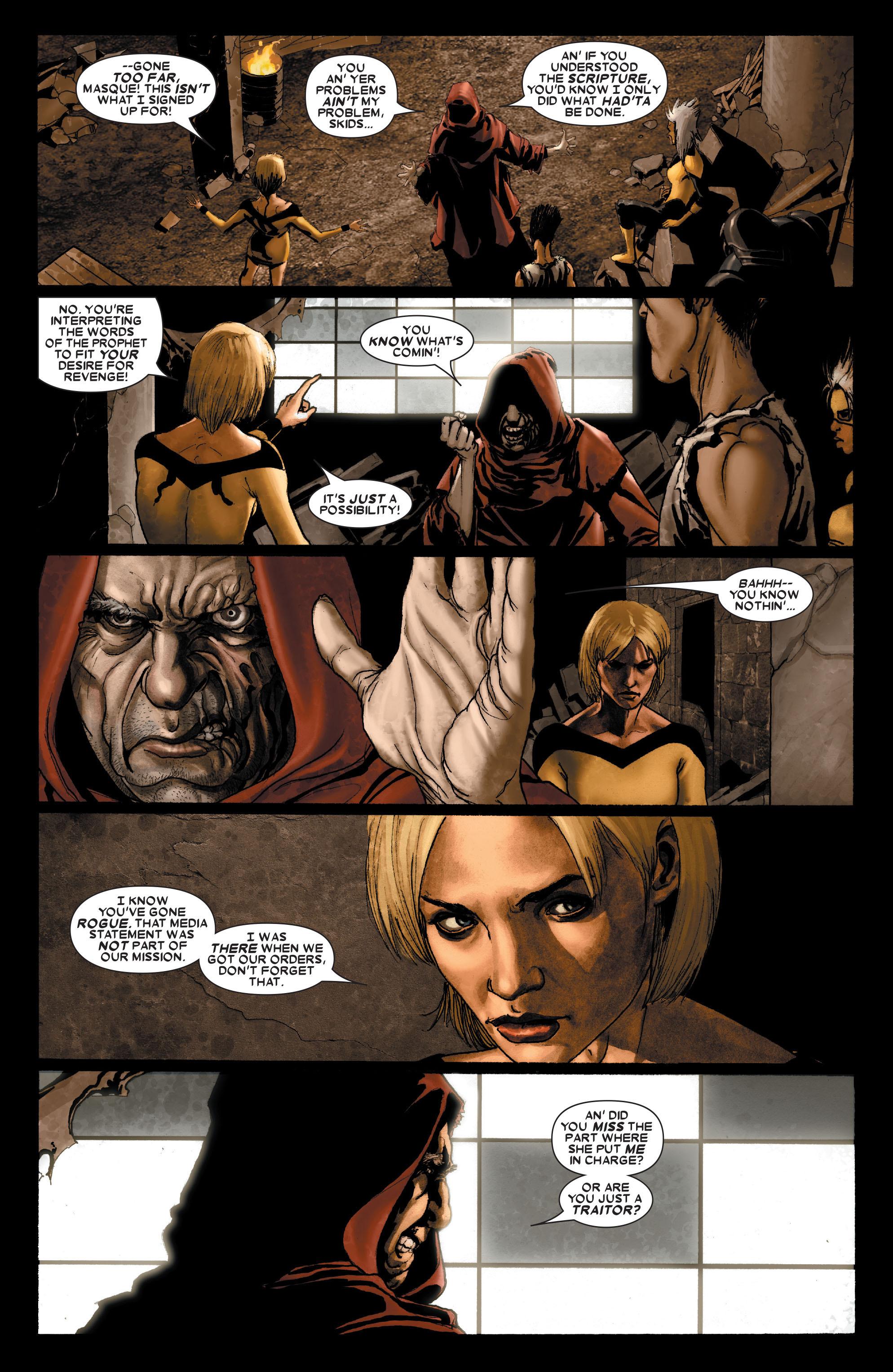Read online Uncanny X-Men (1963) comic -  Issue #489 - 13