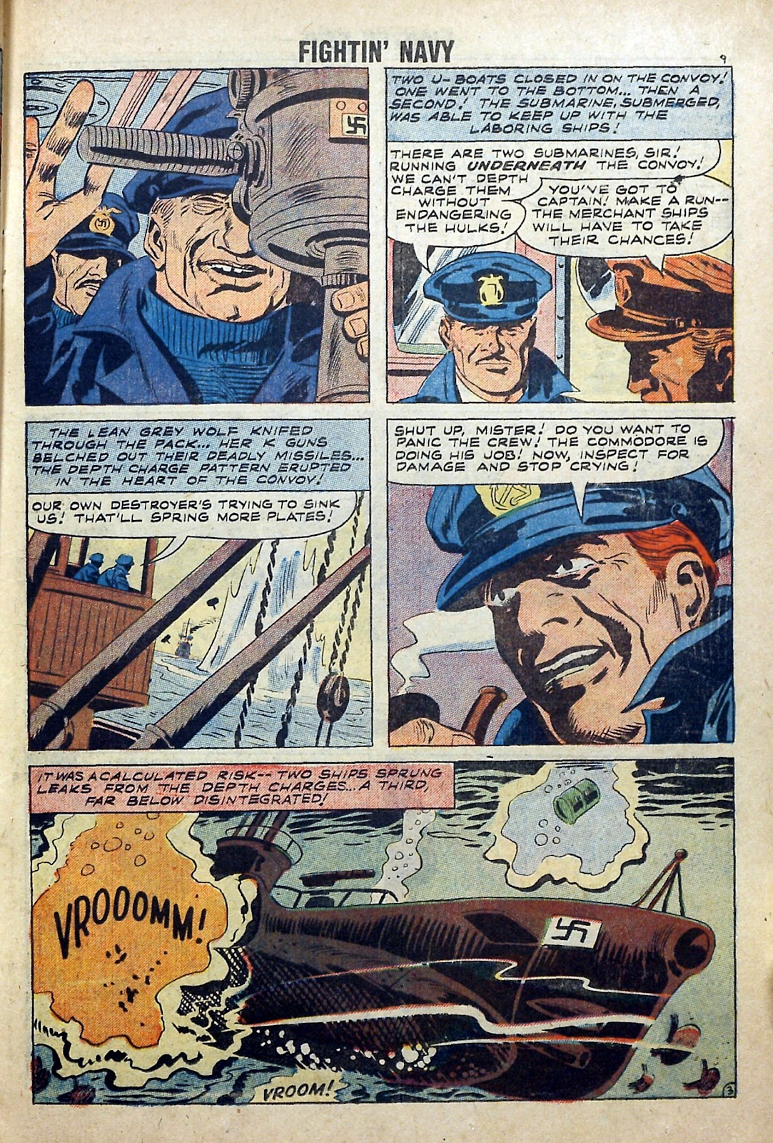Read online Fightin' Navy comic -  Issue #84 - 11