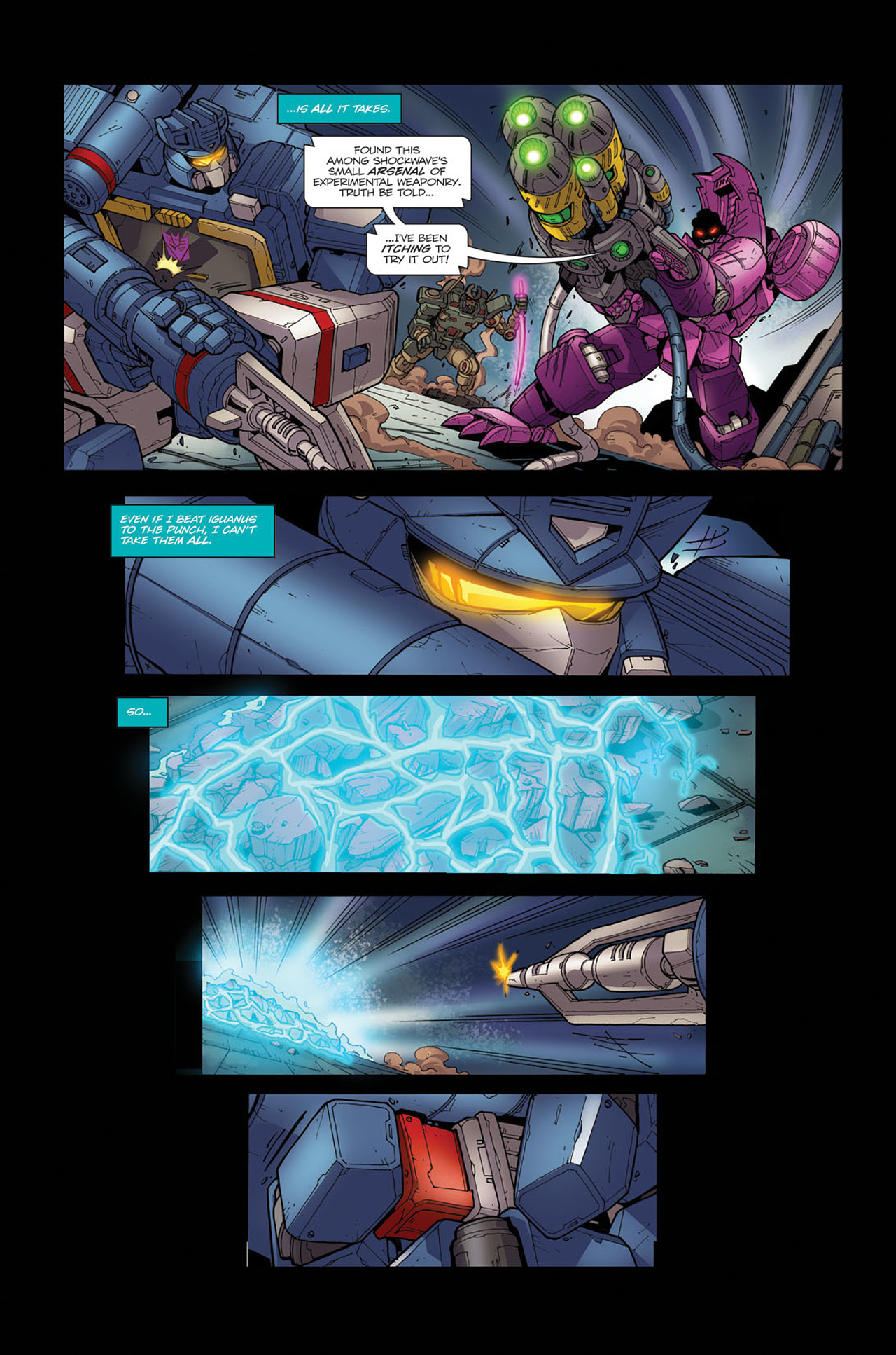 Read online Transformers Spotlight: Soundwave comic -  Issue # Full - 20