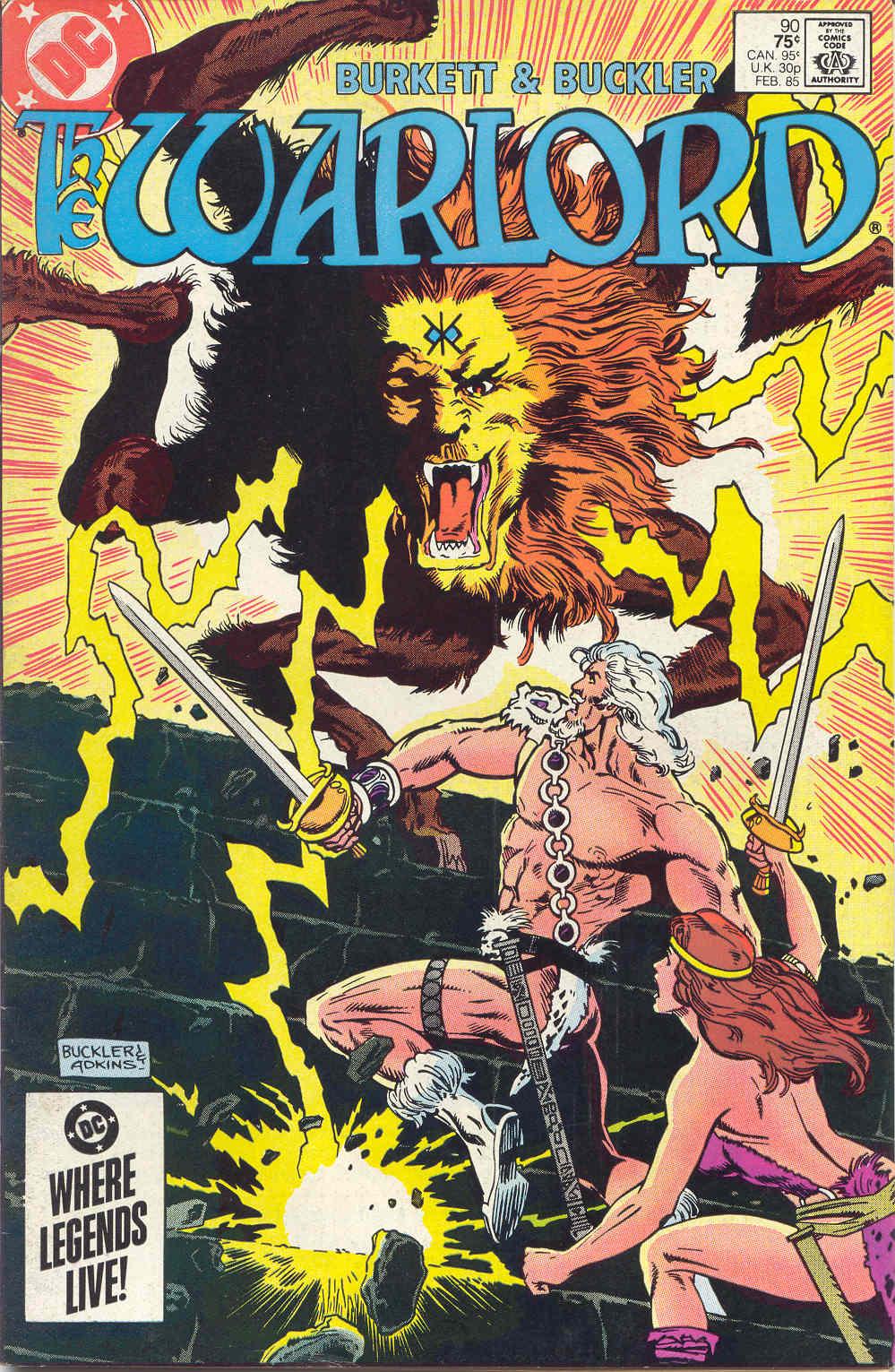 Warlord (1976) 90 Page 1