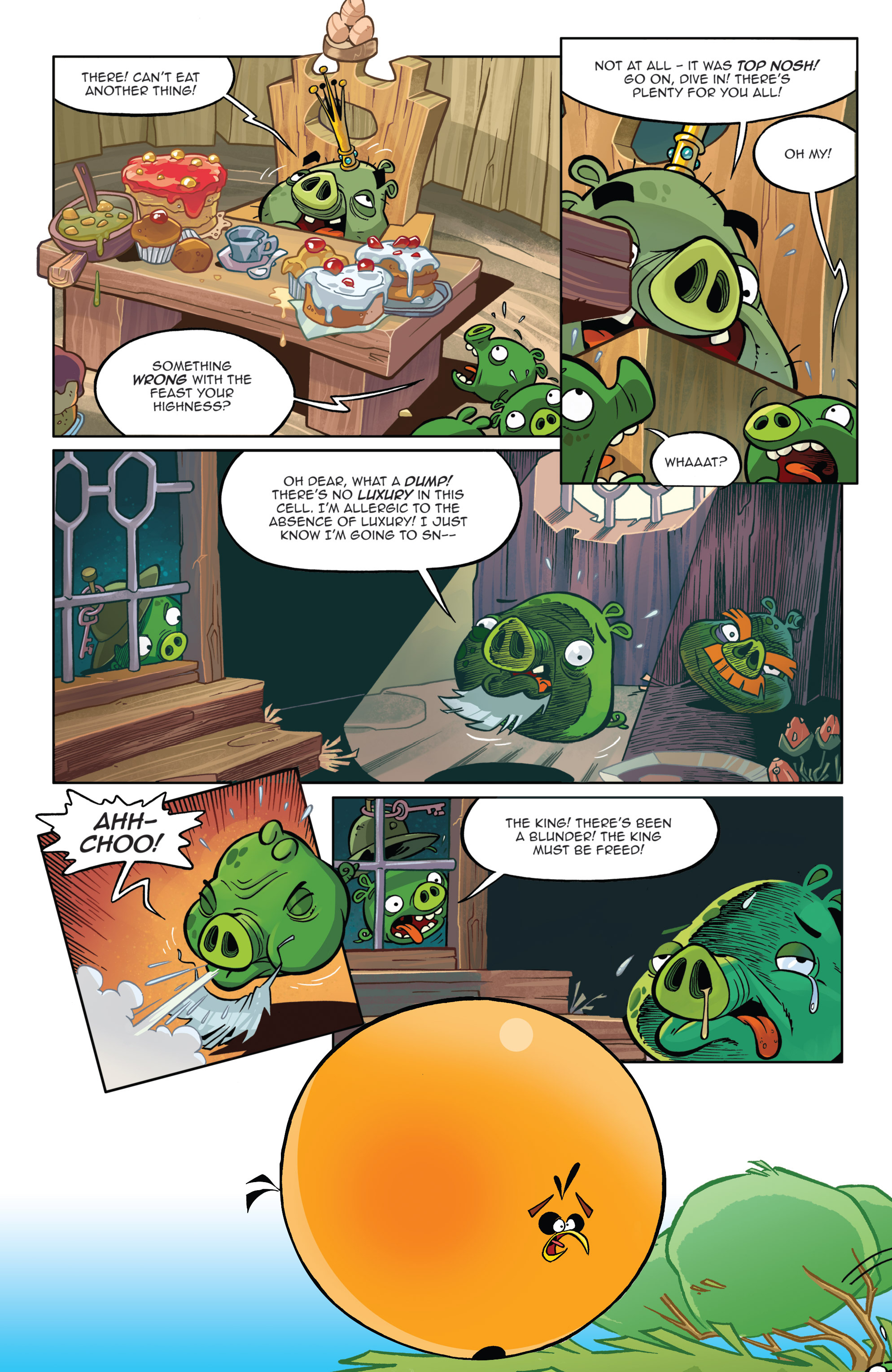 Read online Angry Birds Comics (2014) comic -  Issue #8 - 21