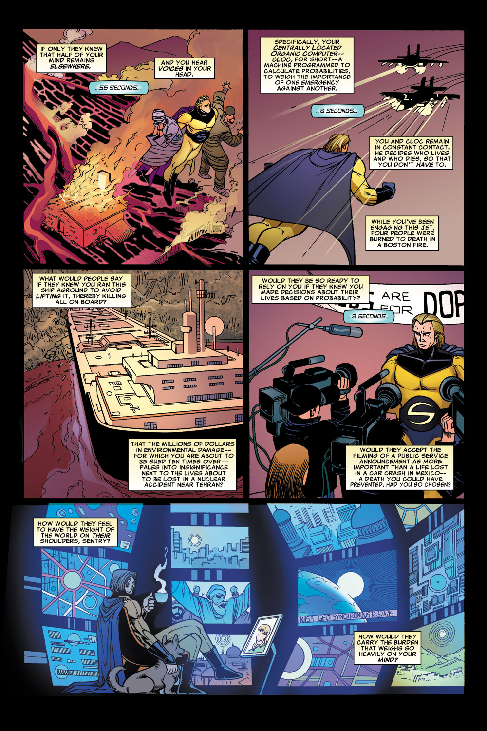 Read online Sentry (2006) comic -  Issue #1 - 8