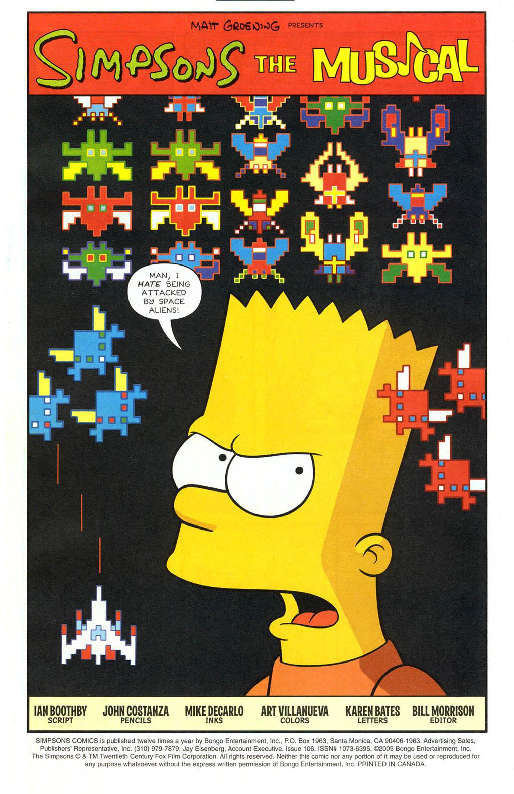 Read online Simpsons Comics comic -  Issue #106 - 2