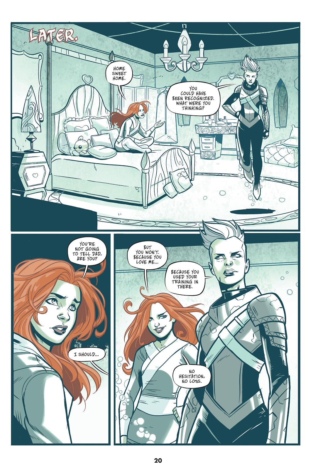 Read online Mera: Tidebreaker comic -  Issue # TPB (Part 1) - 20