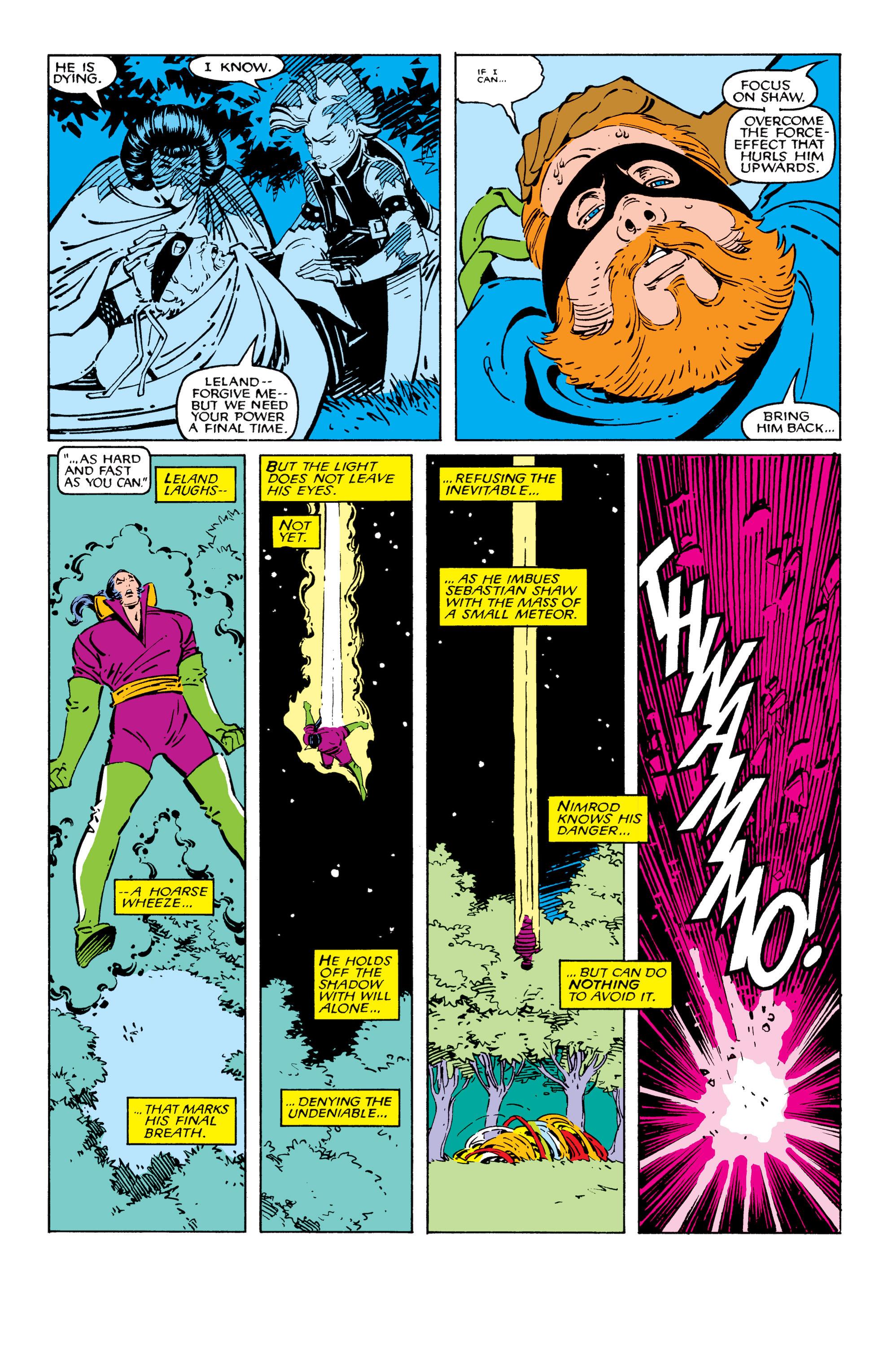 Read online Uncanny X-Men (1963) comic -  Issue #209 - 21