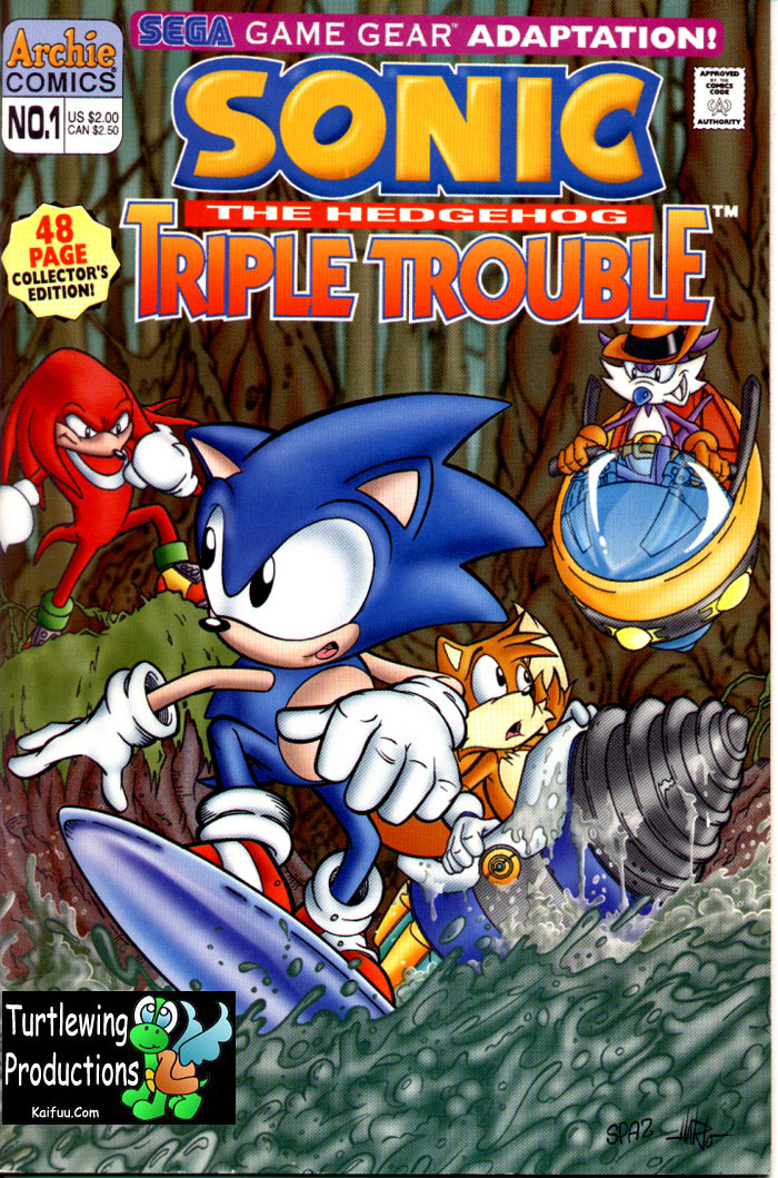 Sonic The Hedgehog Triple Trouble Special Full Read Sonic The Hedgehog Triple Trouble Special Issue Full Online