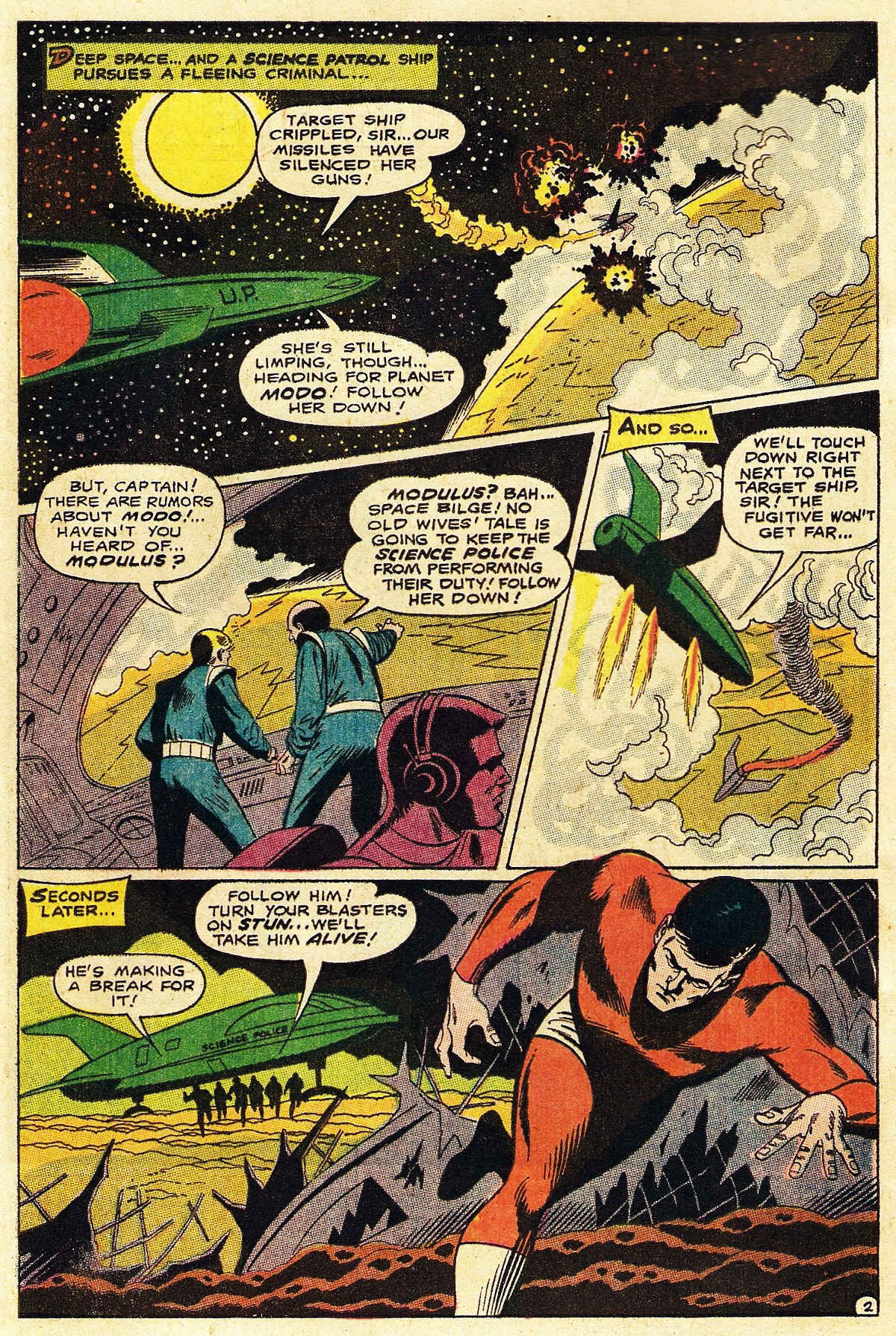 Read online Adventure Comics (1938) comic -  Issue #377 - 4