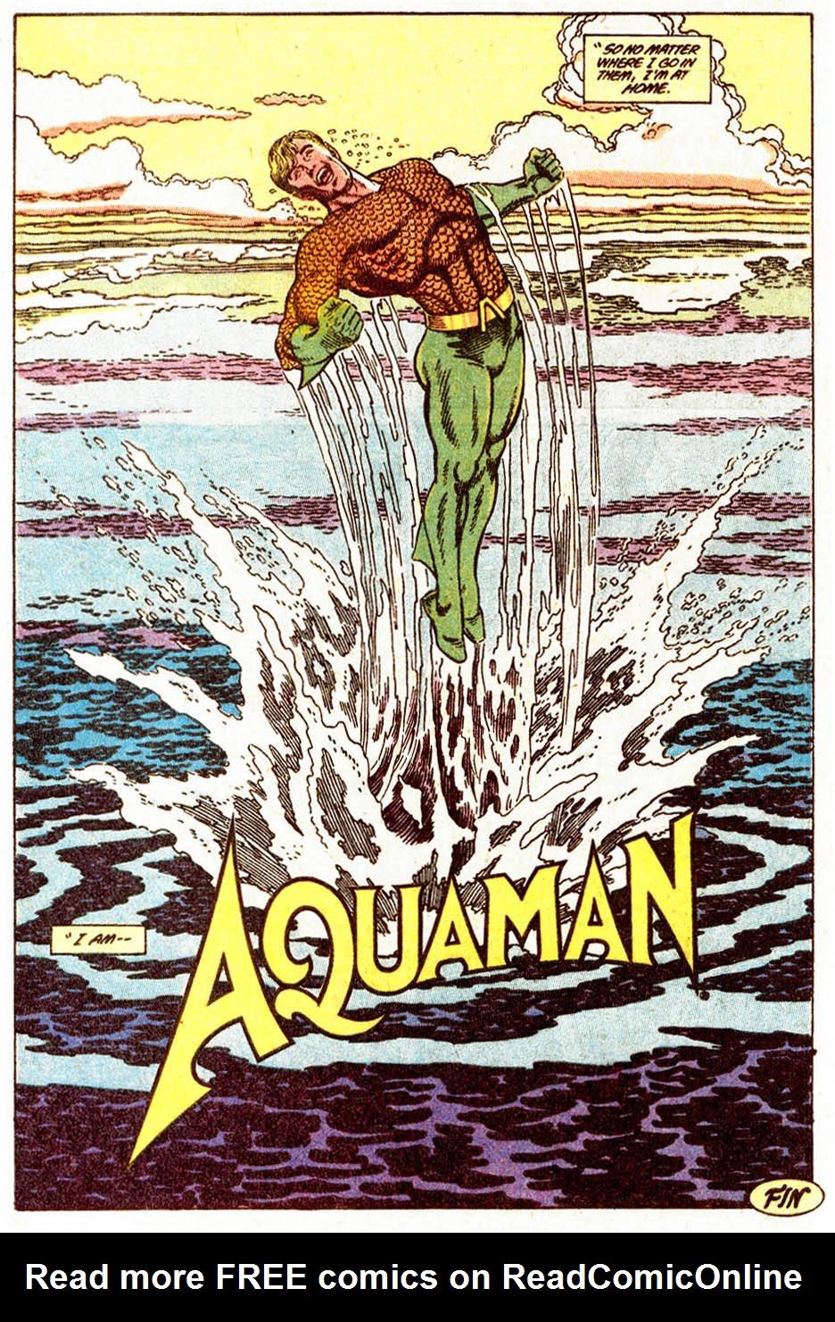 Read online Aquaman (1989) comic -  Issue #5 - 23