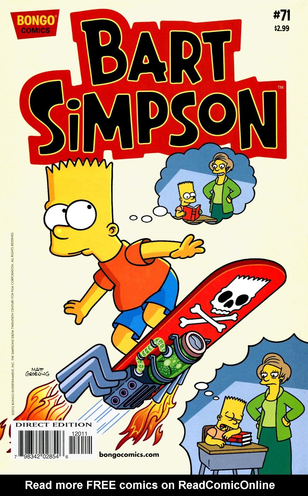 Simpsons Comics Presents Bart Simpson 71 Page 1