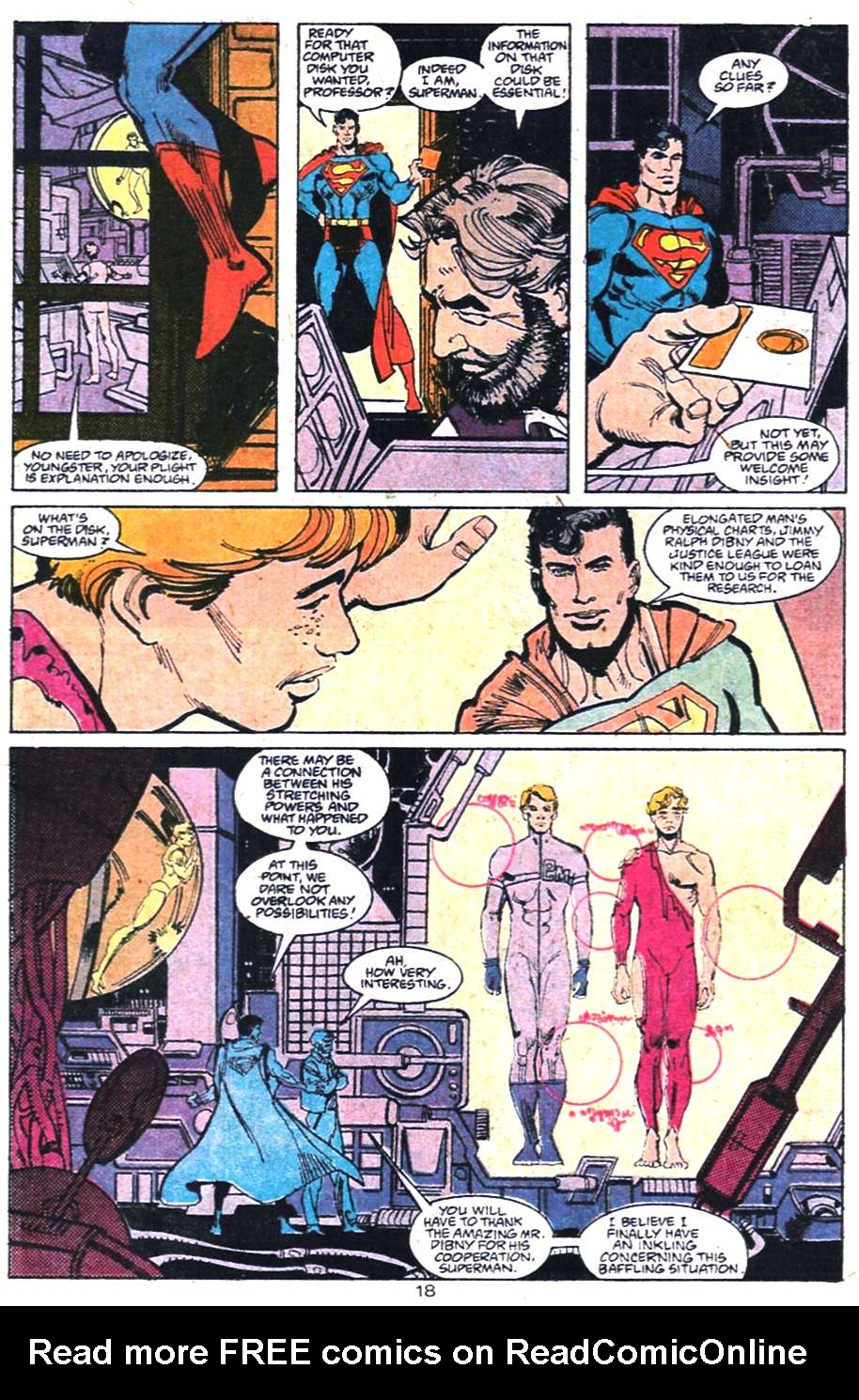 Read online Adventures of Superman (1987) comic -  Issue #458 - 19