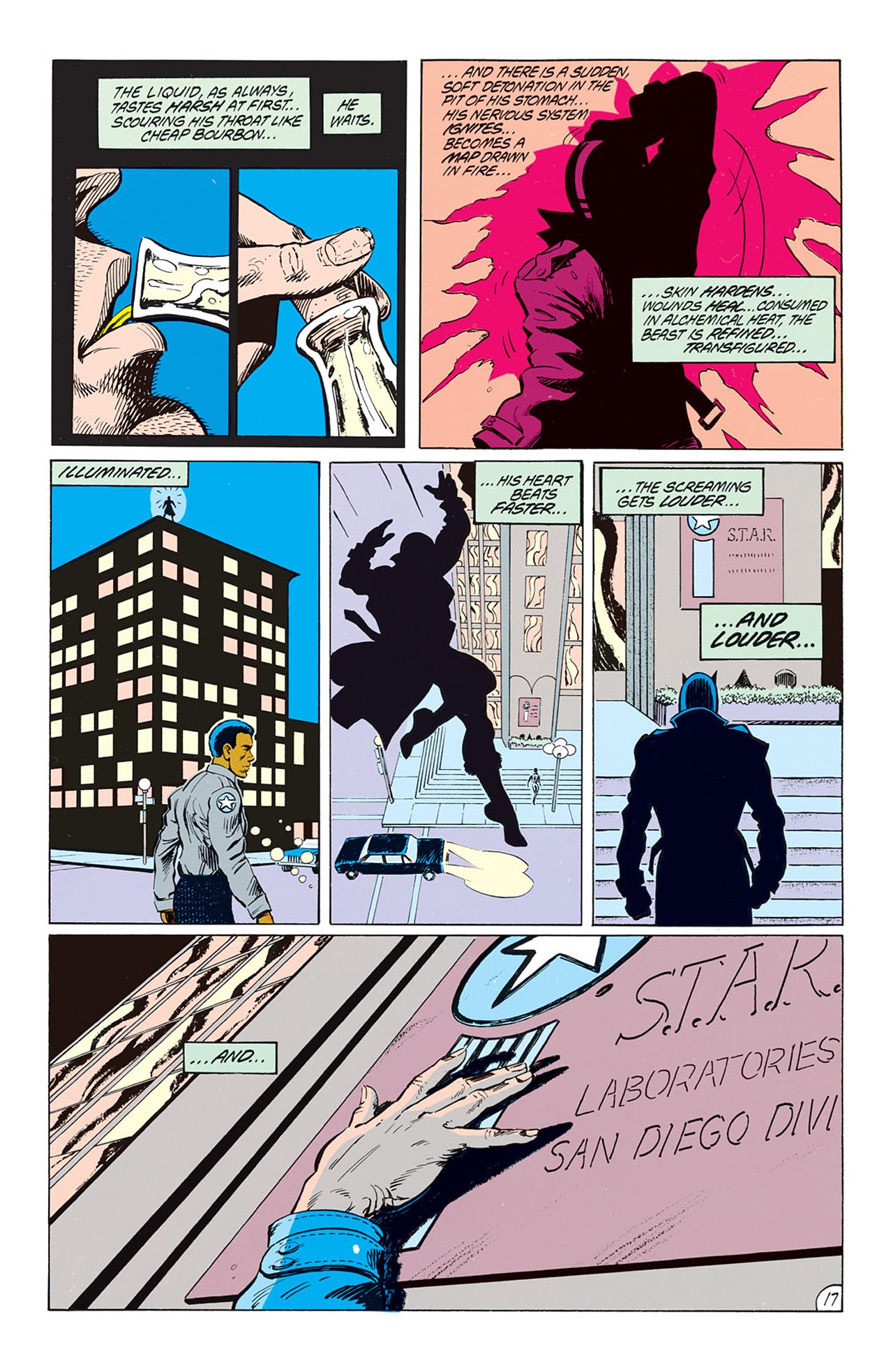 Read online Animal Man (1988) comic -  Issue #1 - 19