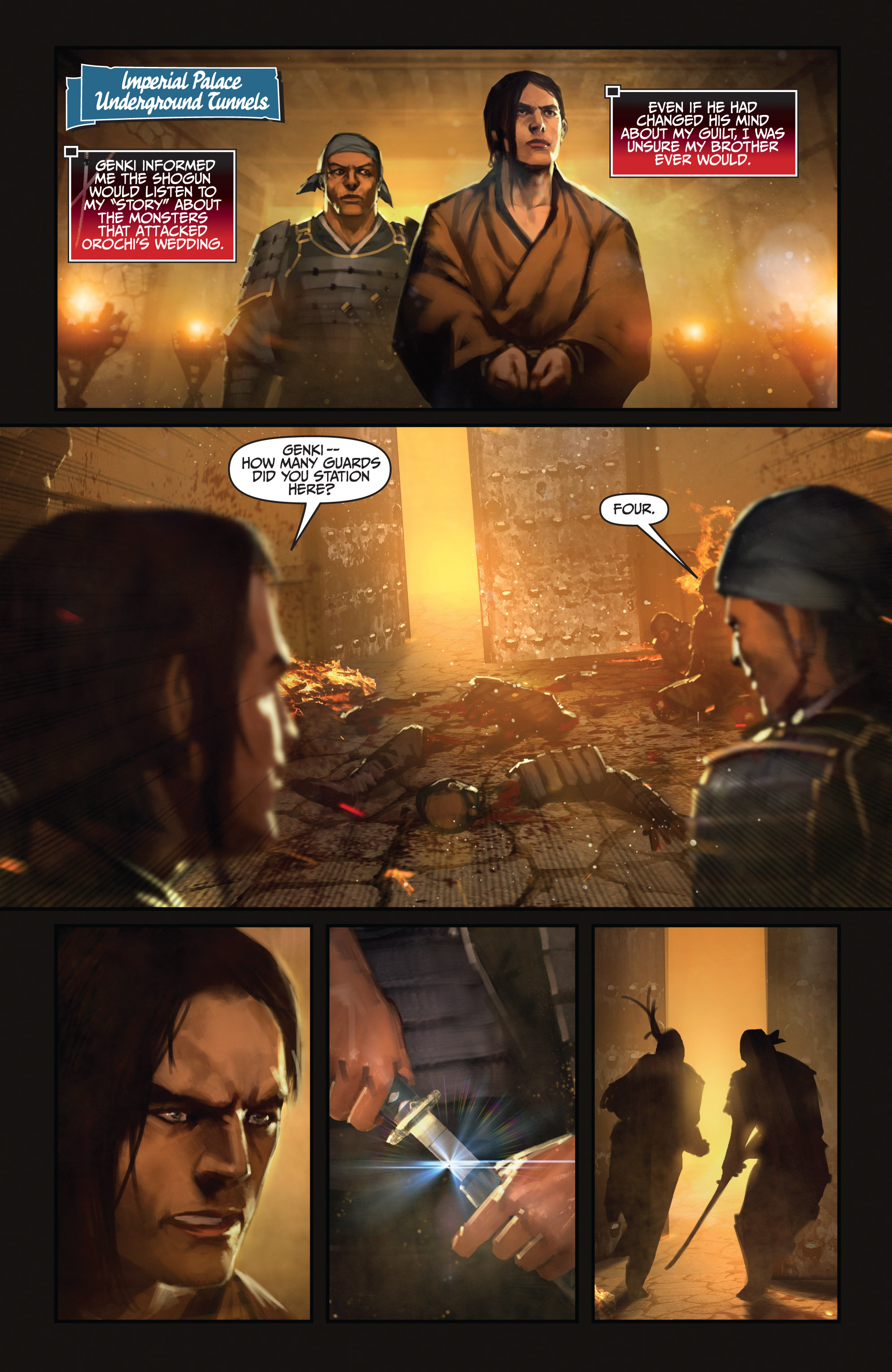 Read online Bushido: The Way of the Warrior comic -  Issue #4 - 3